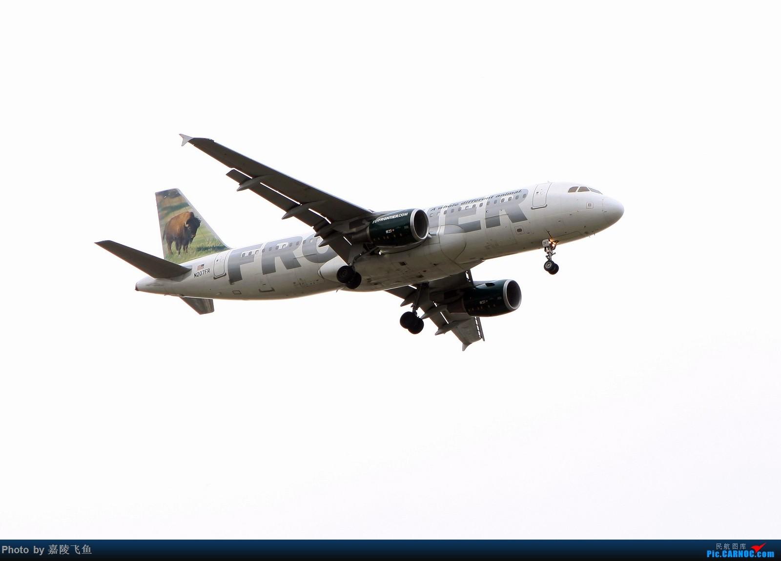 Re:忠实 边疆 阿拉斯加还有其他 AIRBUS A320-200 N207FR 美国圣迭戈机场