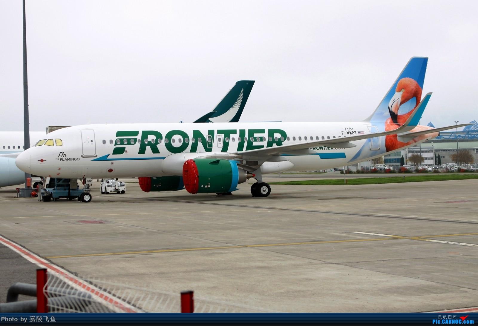 Re:[原创]忠实 边疆 阿拉斯加还有其他 AIRBUS A320NEO F-WWBT 法国图卢兹布拉尼亚克机场