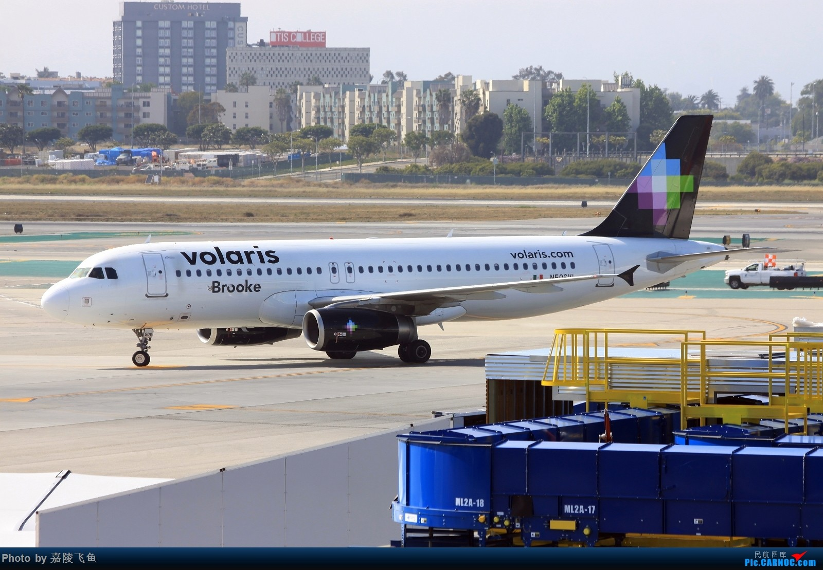 Re:[原创]忠实 边疆 阿拉斯加还有其他 AIRBUS A320-200 N506VL 美国洛杉矶机场
