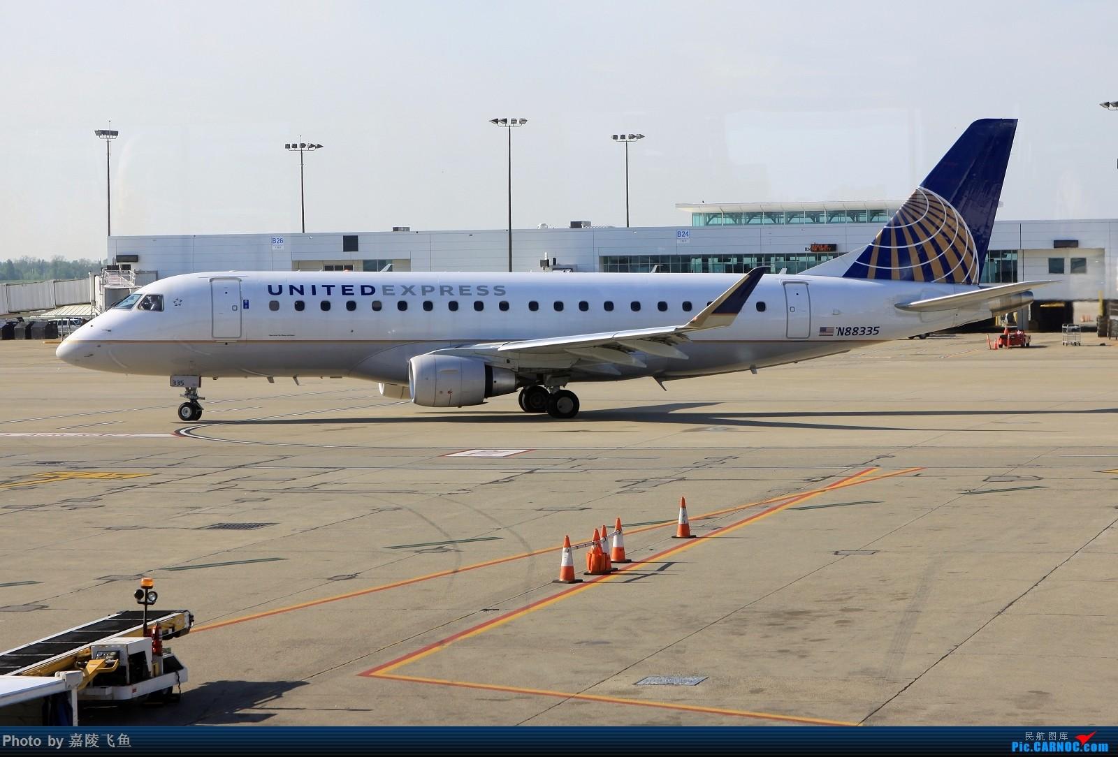 [原创]少见的ERJ-175 EMBRAER E-175 N88335 美国辛辛那提-北肯塔基国际机场