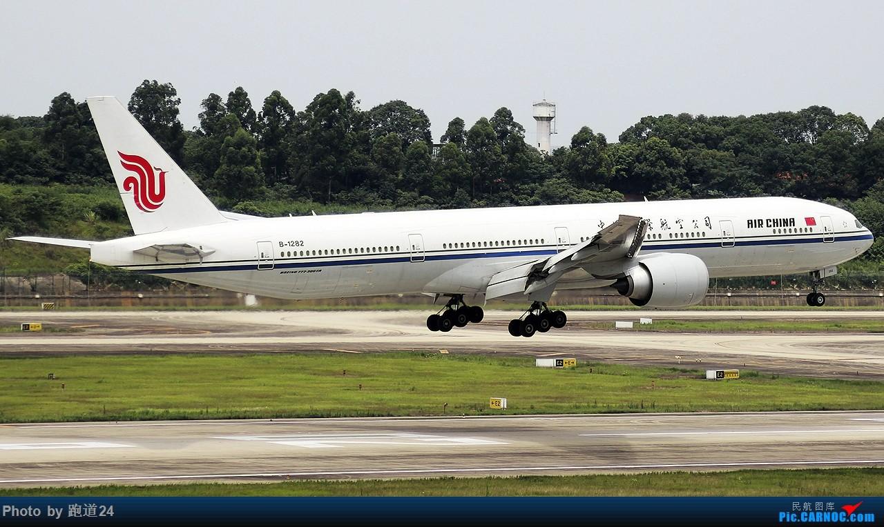 Re:[原创]Re:[原创][原创]Re:[原创]南航A380备降CTU 1800*1200 BOEING 777-300ER B-1282 中国成都双流国际机场