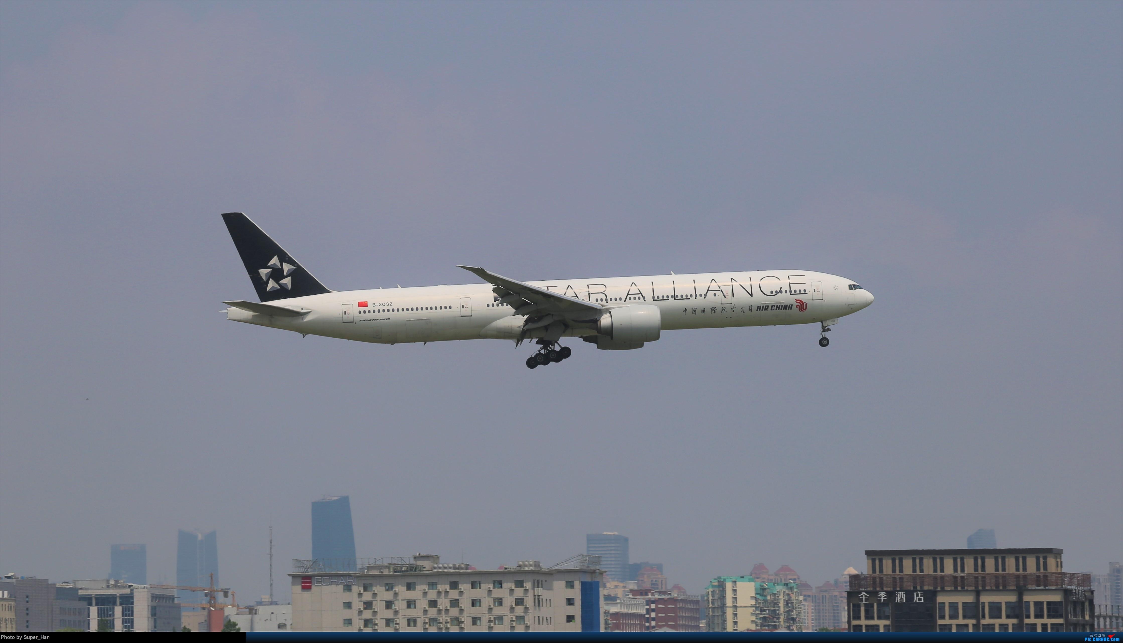 【杭州飞友会】0715去虹桥说走就走【777篇】 BOEING 777-300ER B-2032 中国上海虹桥国际机场