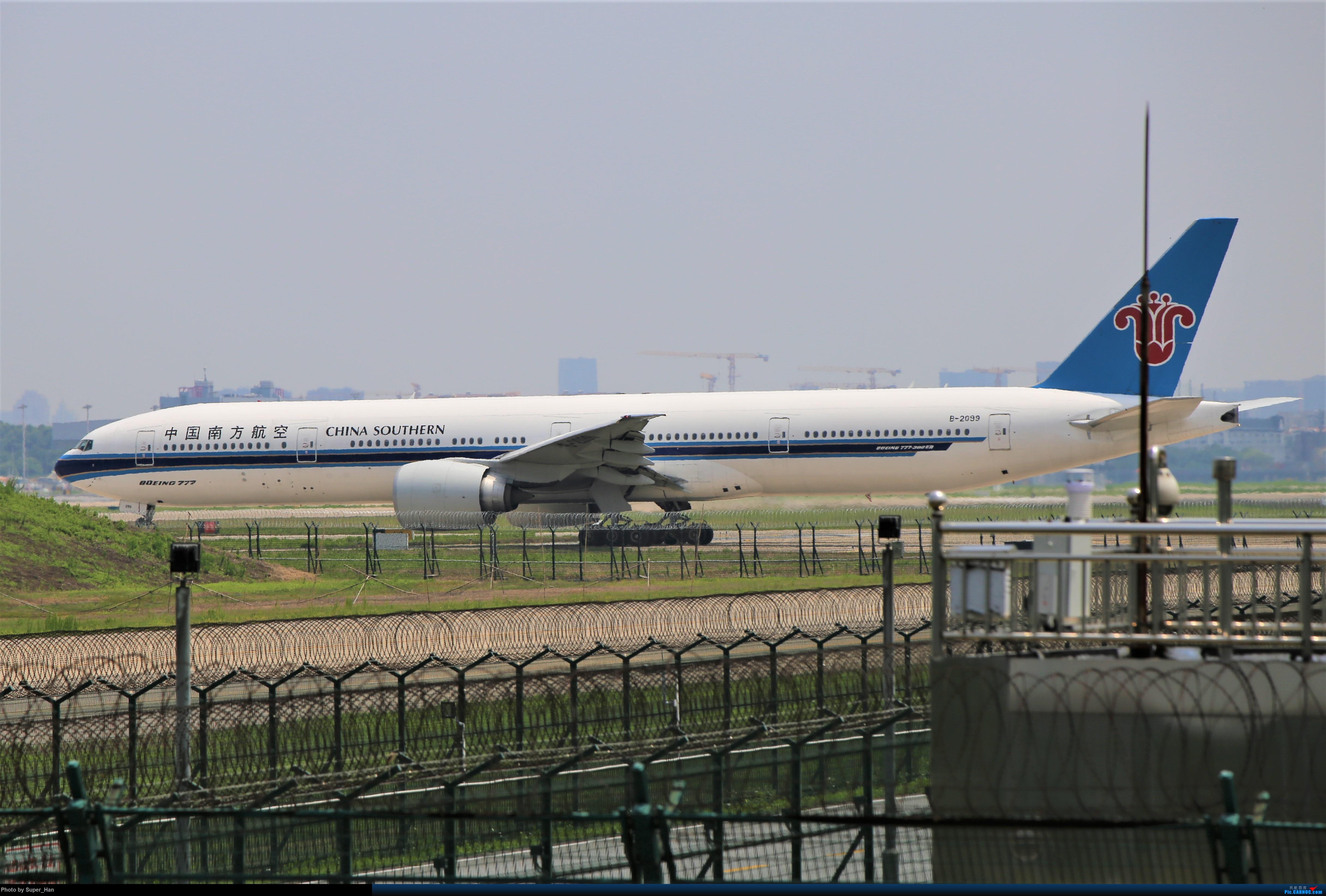 Re:[原创]【杭州飞友会】0715去虹桥说走就走【777篇】 BOEING 777-300ER B-2099 中国上海虹桥国际机场