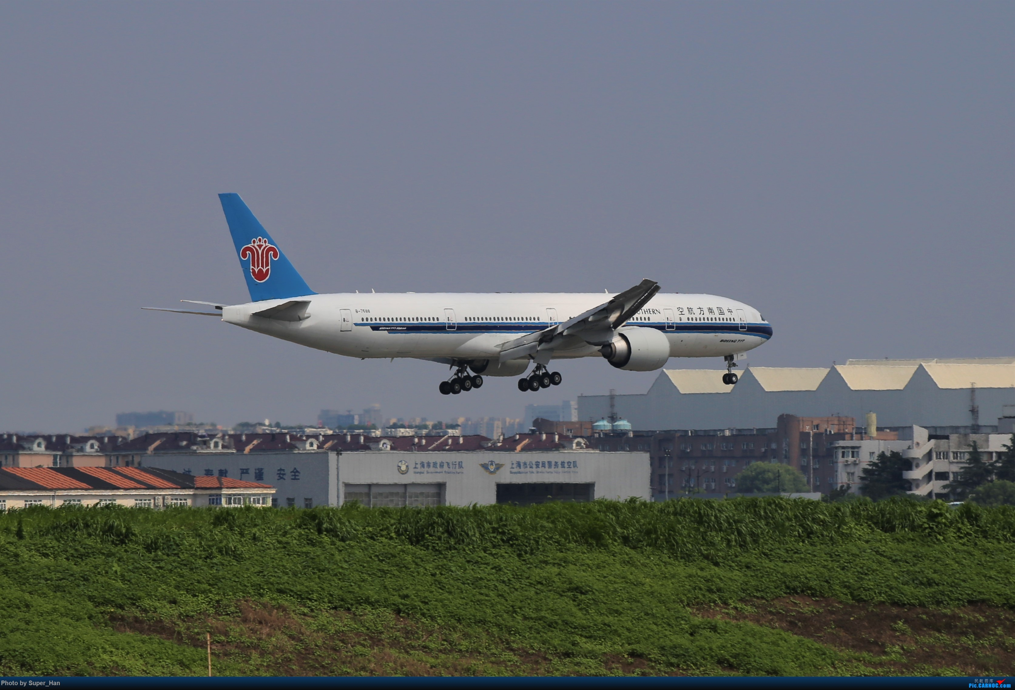 Re:[原创]【杭州飞友会】0715去虹桥说走就走【777篇】 BOEING 777-300ER B-7588 中国上海虹桥国际机场