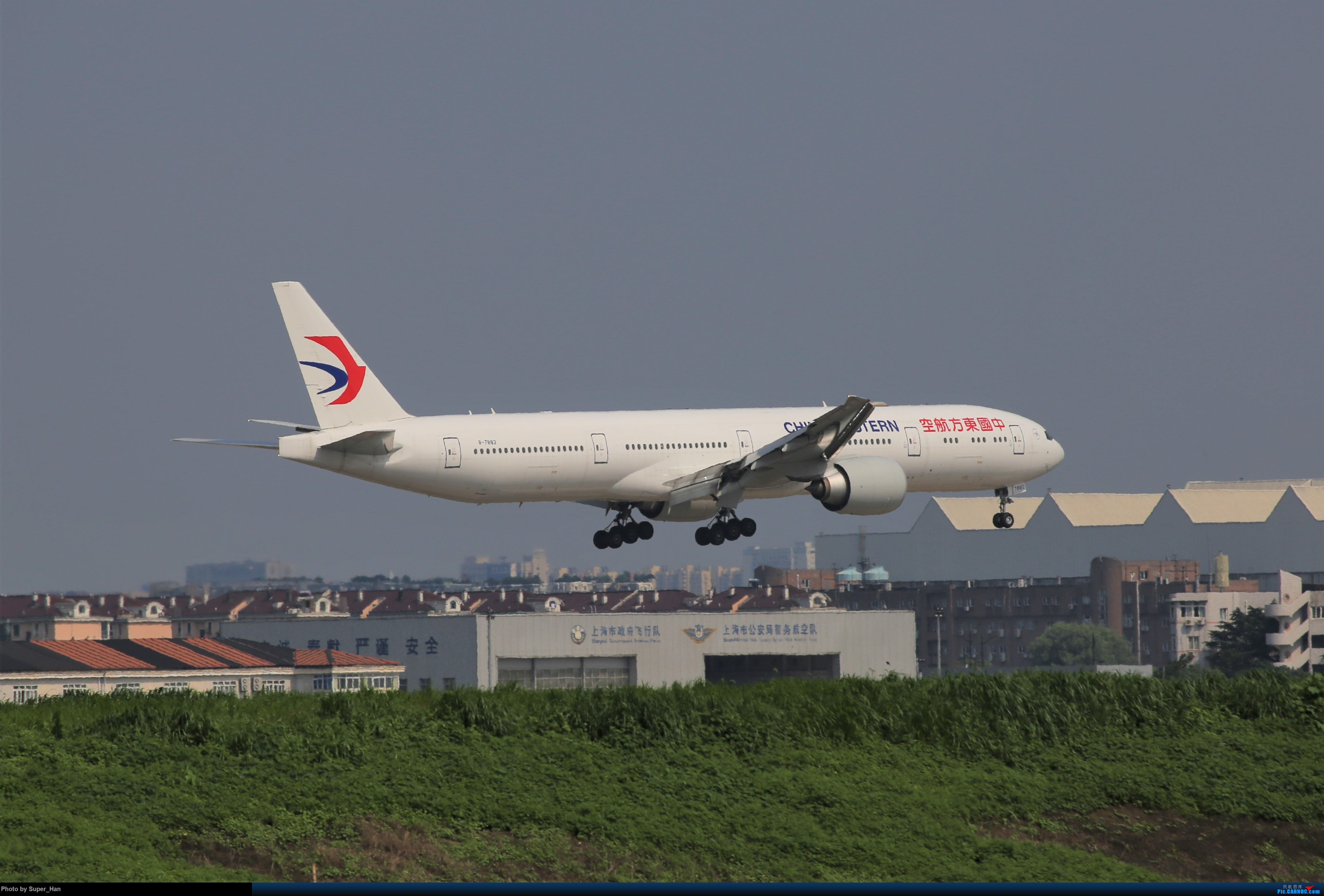 Re:[原创]【杭州飞友会】0715去虹桥说走就走【777篇】 BOEING 777-300ER B-7882 中国上海虹桥国际机场