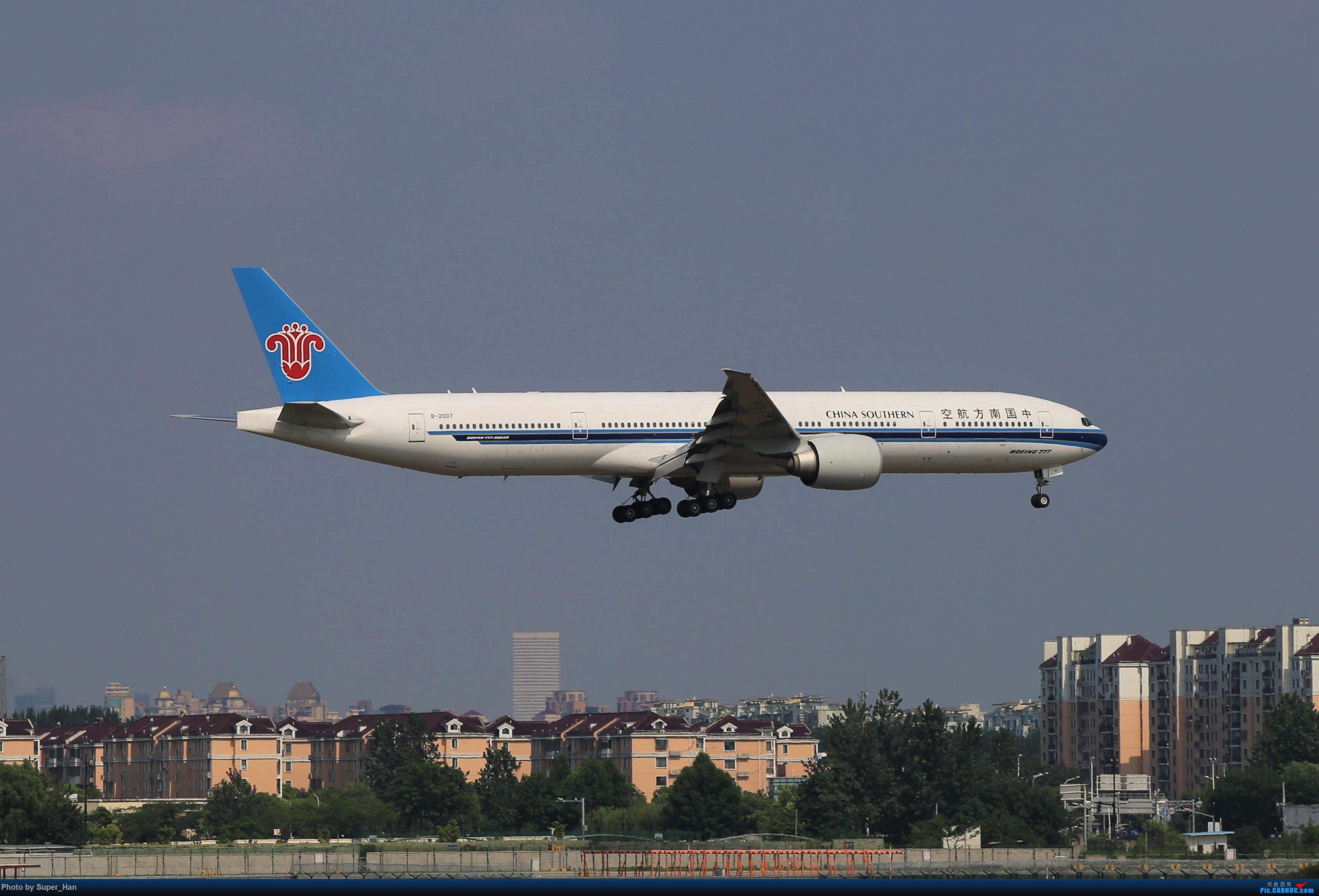 Re:[原创]【杭州飞友会】0715去虹桥说走就走【777篇】 BOEING 777-300ER B-2007 中国上海虹桥国际机场