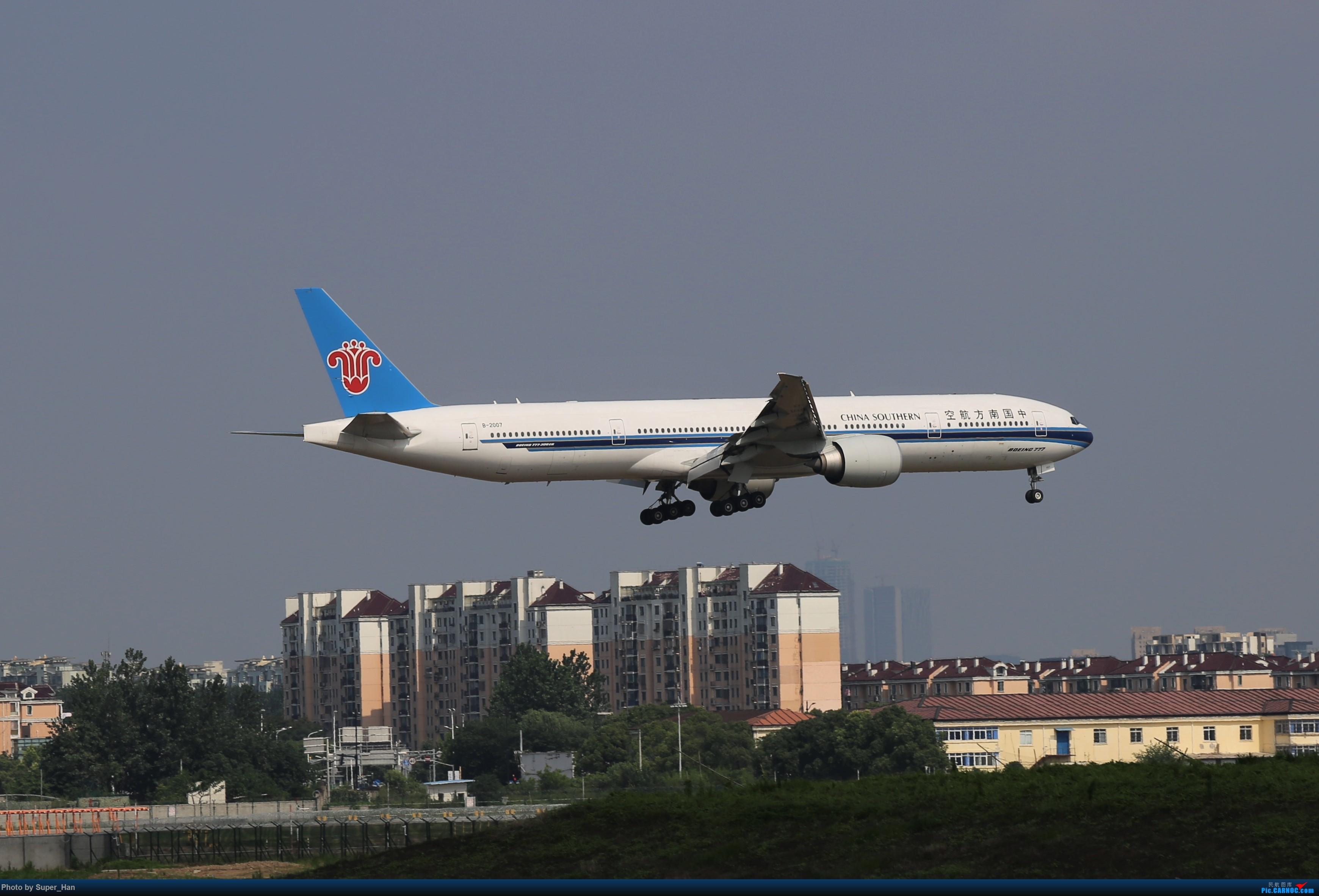 Re:【杭州飞友会】0715去虹桥说走就走【777篇】 BOEING 777-300ER B-2007 中国上海虹桥国际机场