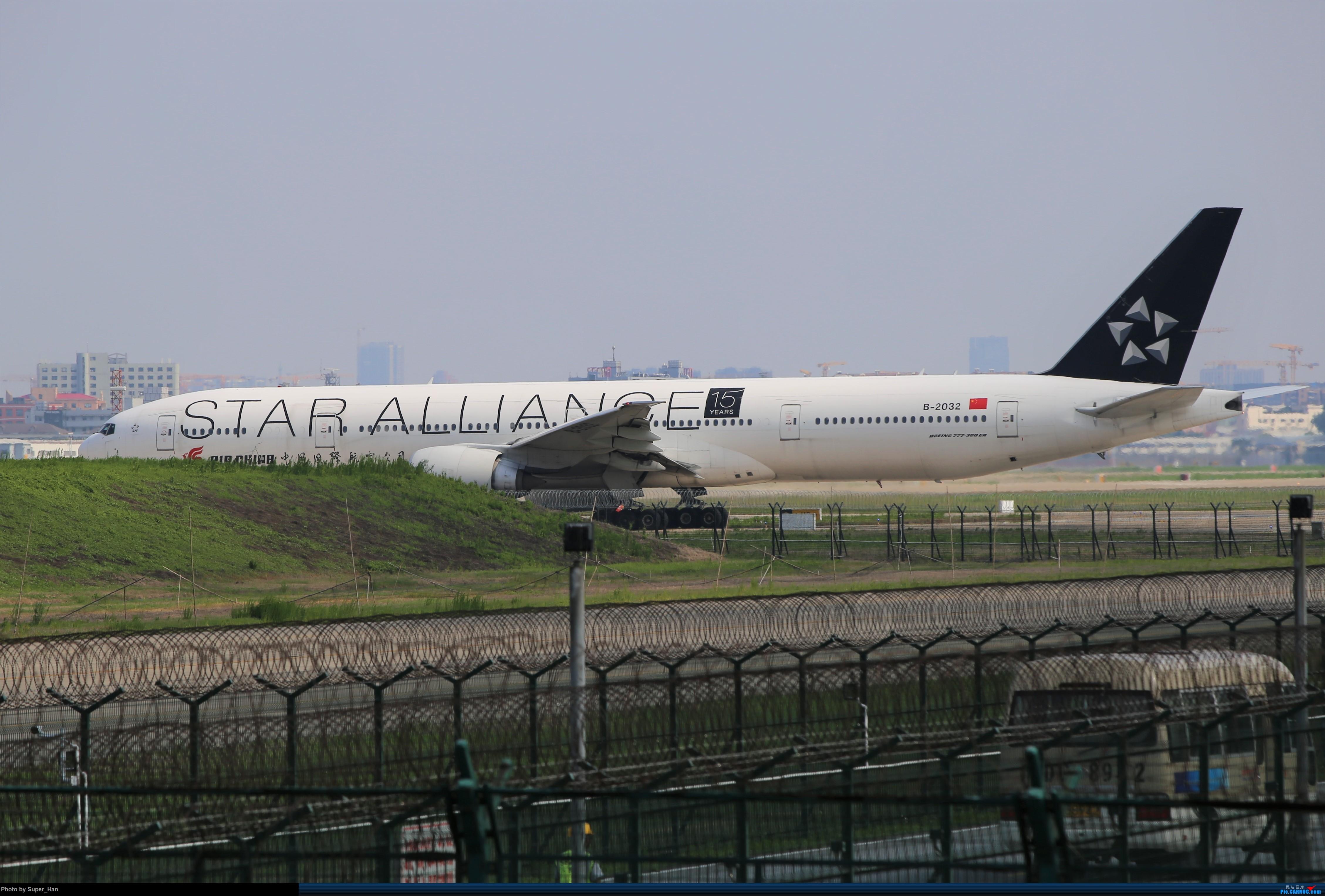Re:[原创]【杭州飞友会】0715去虹桥说走就走【777篇】 BOEING 777-300ER B-2032 中国上海虹桥国际机场