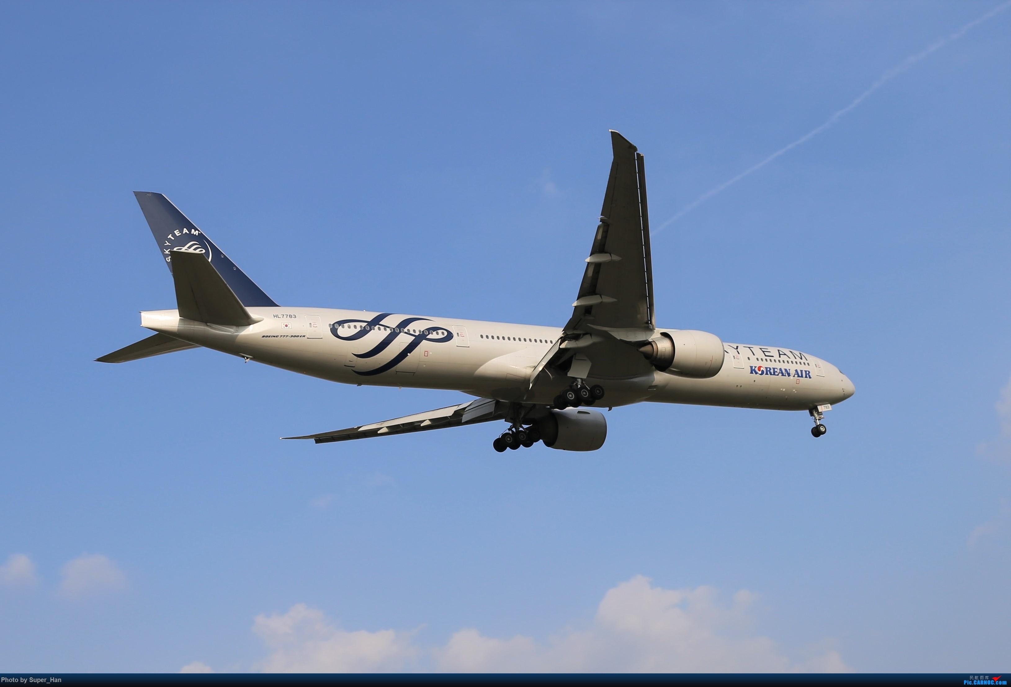 Re:[原创]【杭州飞友会】0715去虹桥说走就走【777篇】 BOEING 777-300ER HL7783 中国上海虹桥国际机场