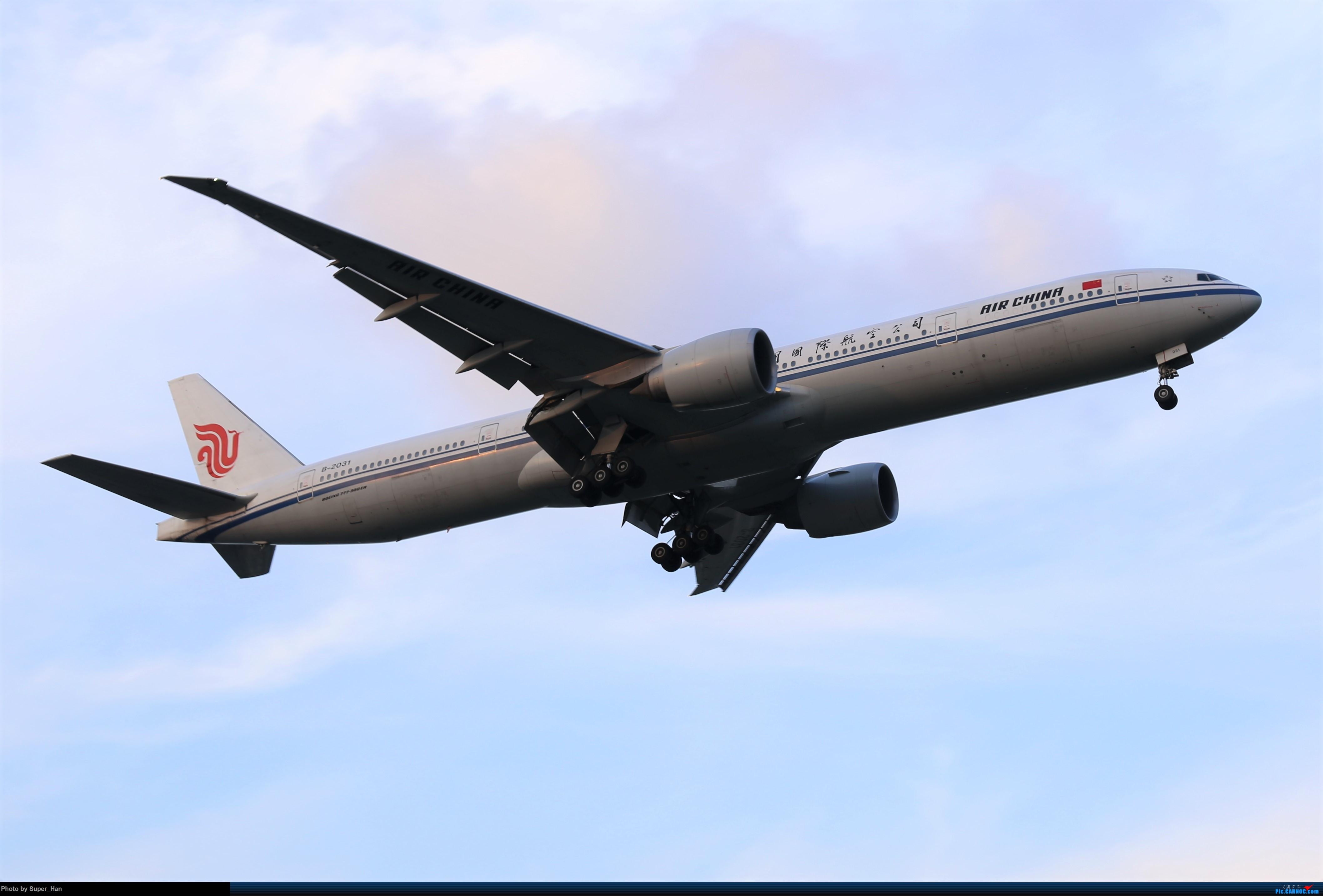 Re:[原创]【杭州飞友会】0715去虹桥说走就走【777篇】 BOEING 777-300ER B-2031 中国上海虹桥国际机场