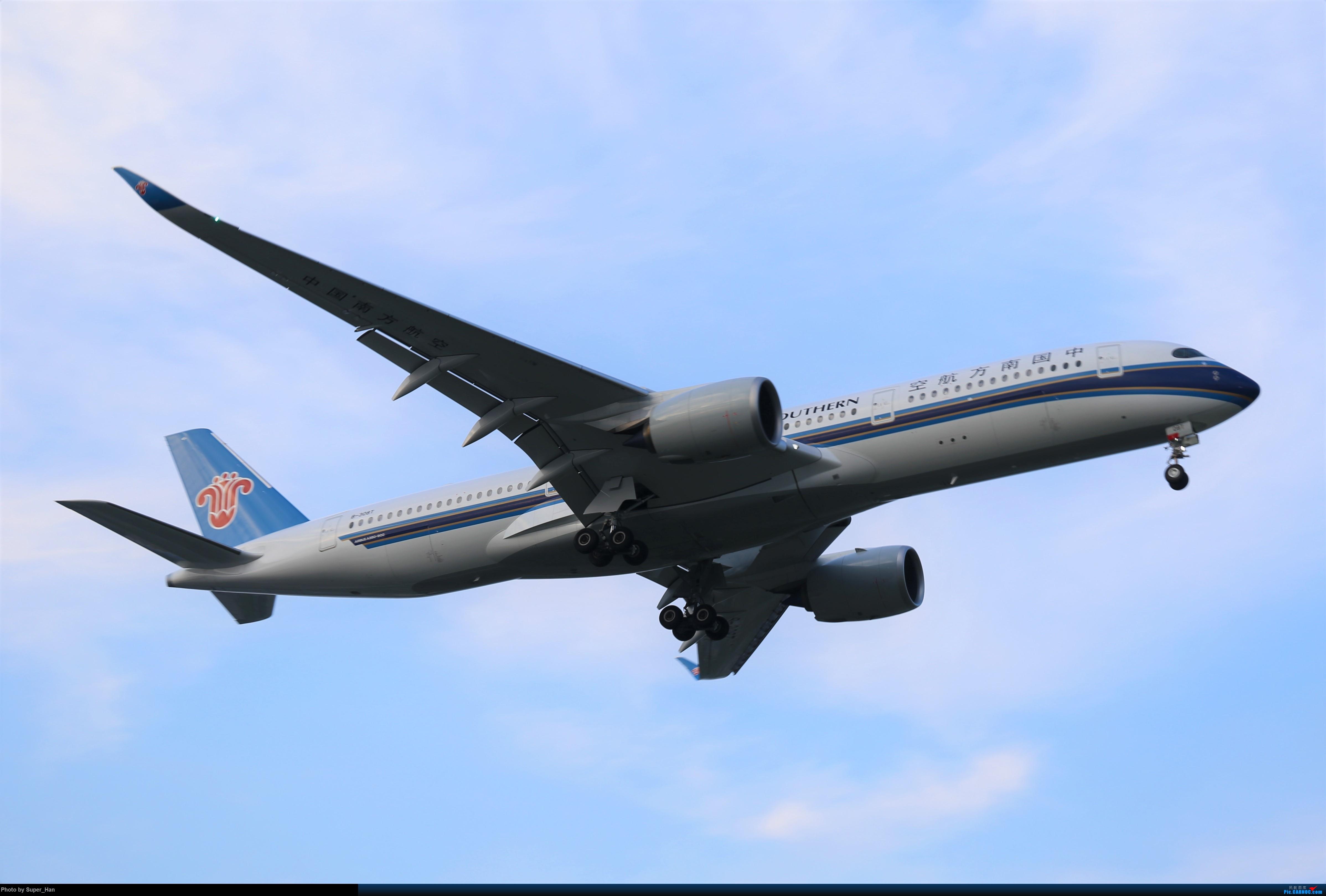 Re:【杭州飞友会】0715虹桥南航第一架359降落 AIRBUS A350-900 B-308T 中国上海虹桥国际机场