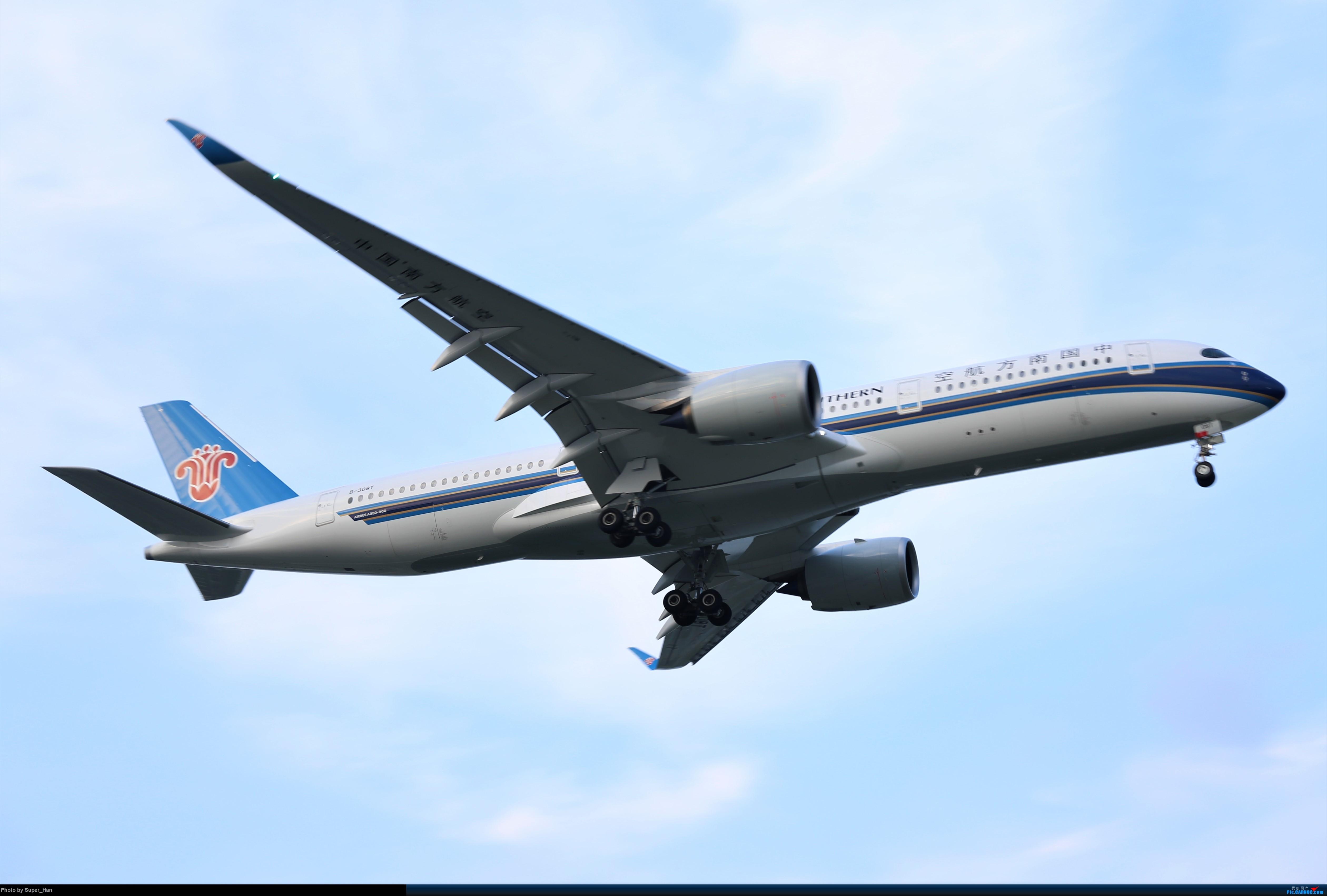 Re:[原创]【杭州飞友会】0715虹桥南航第一架359降落 AIRBUS A350-900 B-308T 中国上海虹桥国际机场