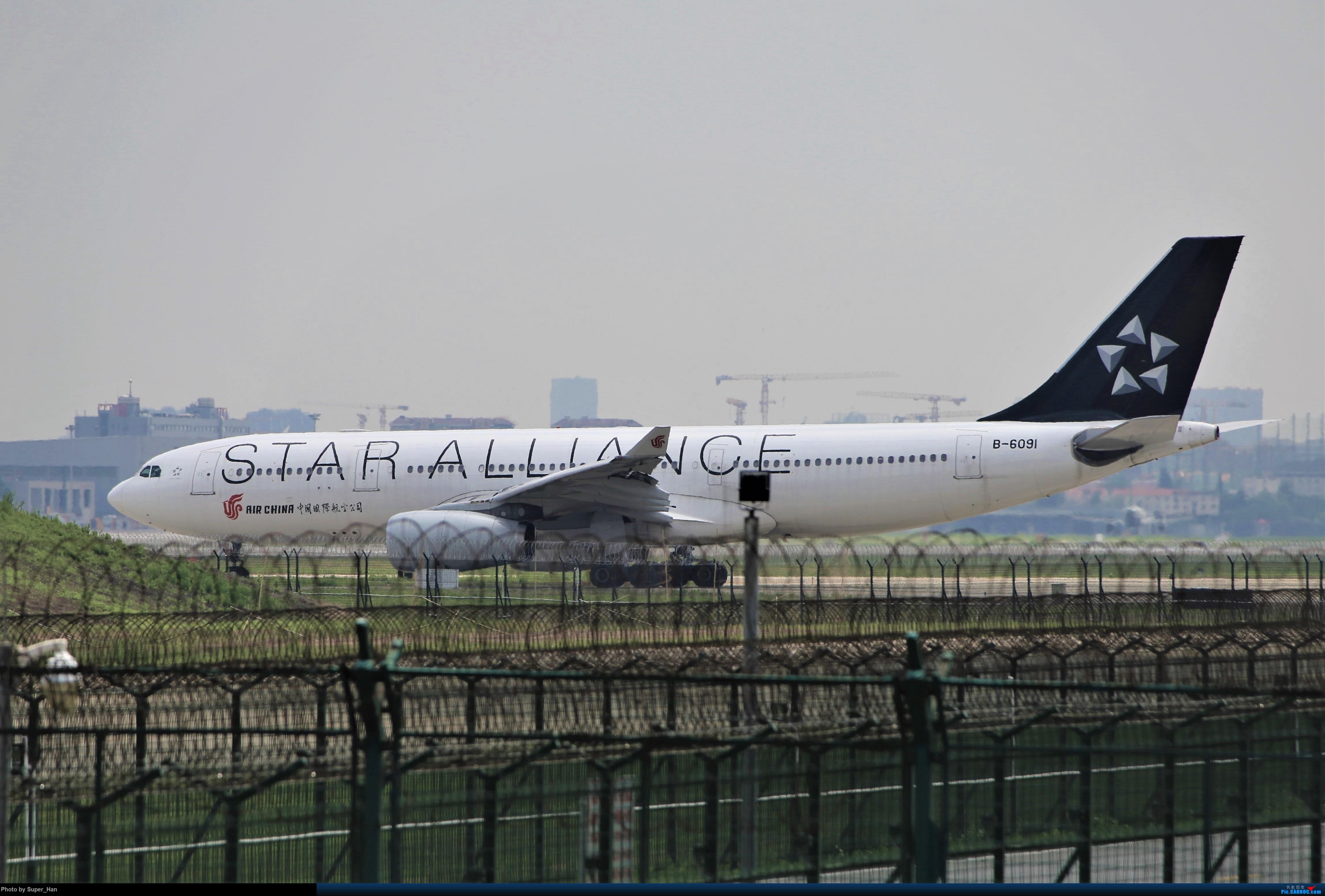 [原创]【杭州飞友会】0715去虹桥说走就走【最多的330篇】 AIRBUS A330-200 B-6091 中国上海虹桥国际机场