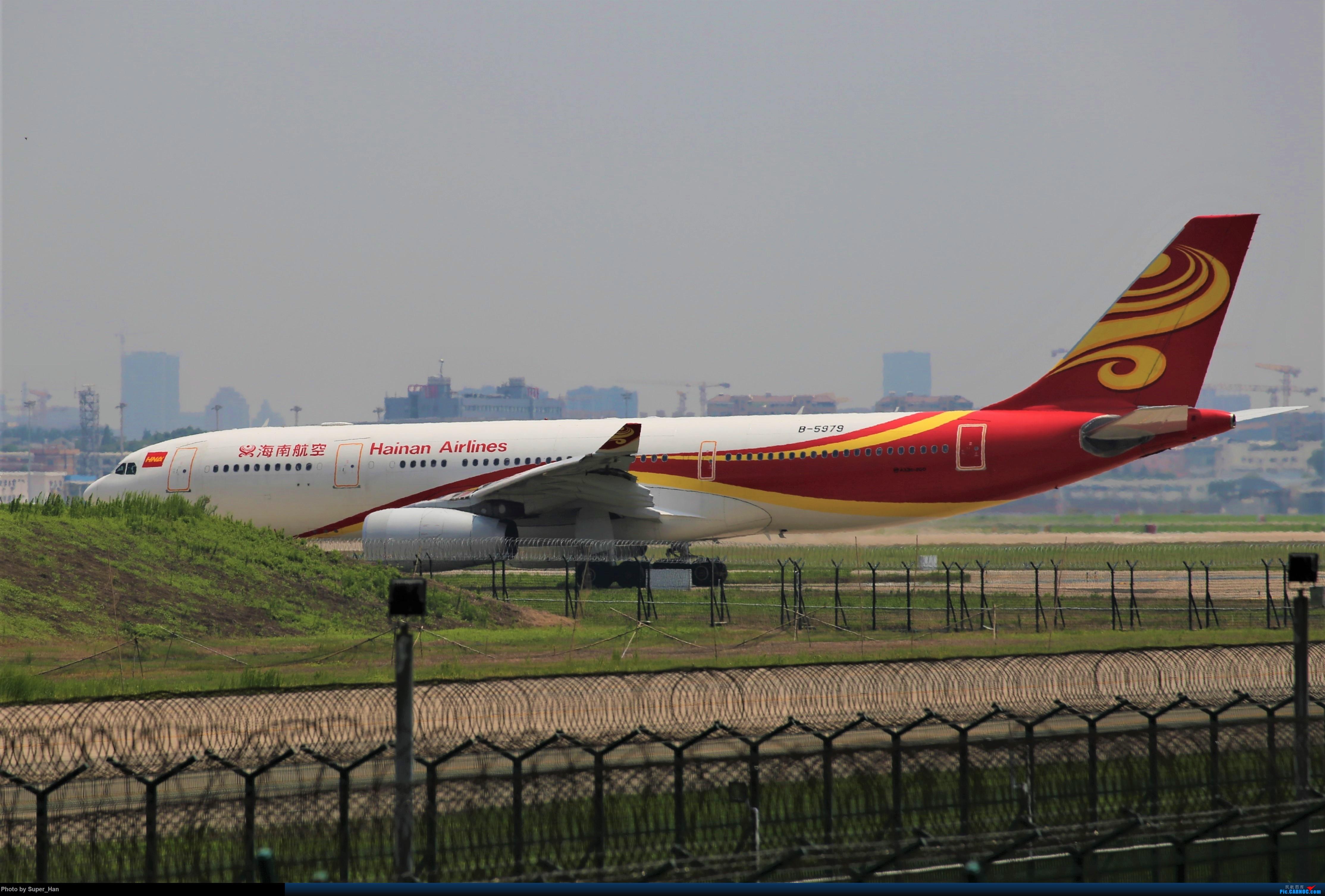 Re:[原创]0715去虹桥说走就走【最多的330篇】 AIRBUS A330-200 B-5979 中国上海虹桥国际机场
