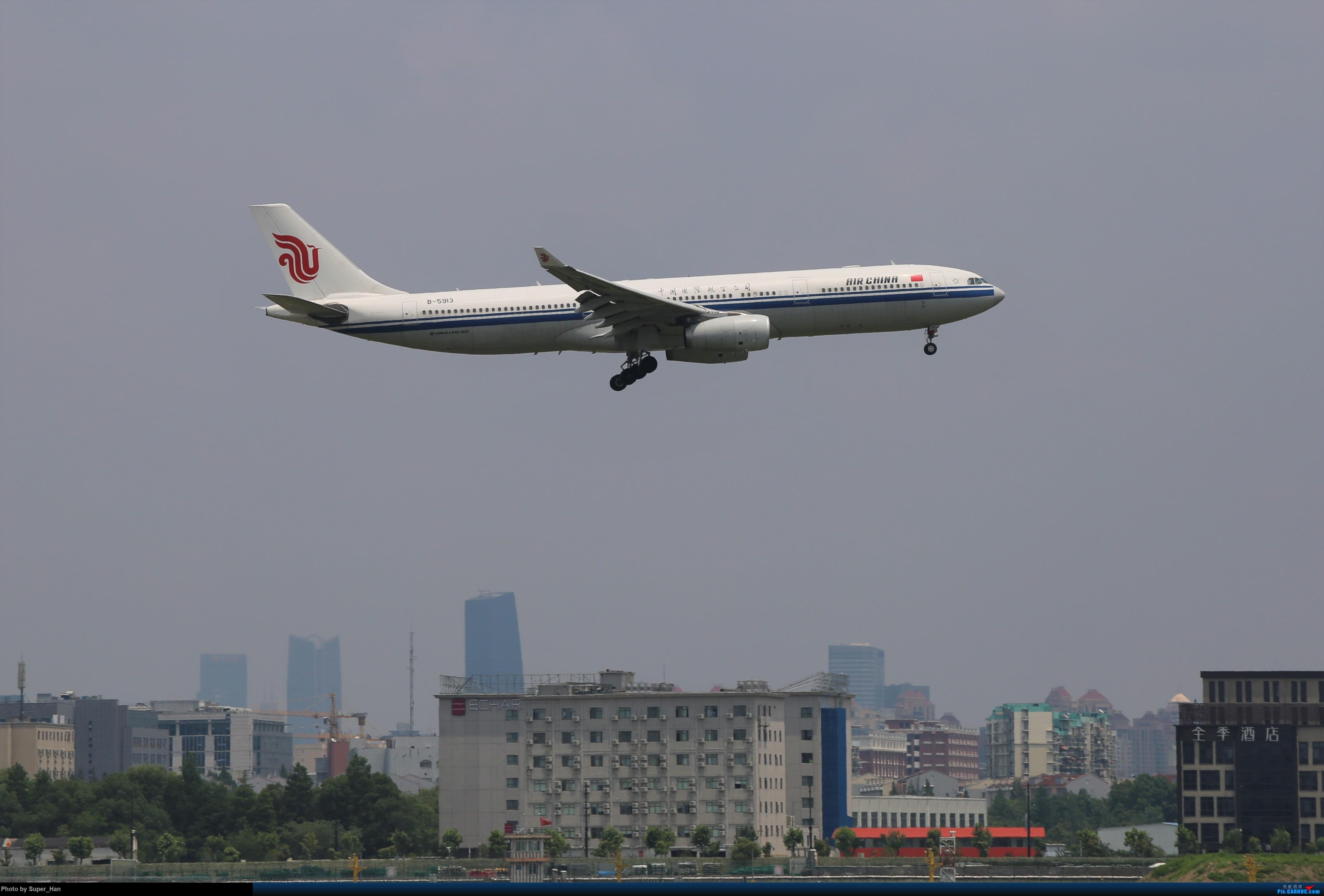 Re:[原创]0715去虹桥说走就走【最多的330篇】 AIRBUS A330-300 B-5913 中国上海虹桥国际机场