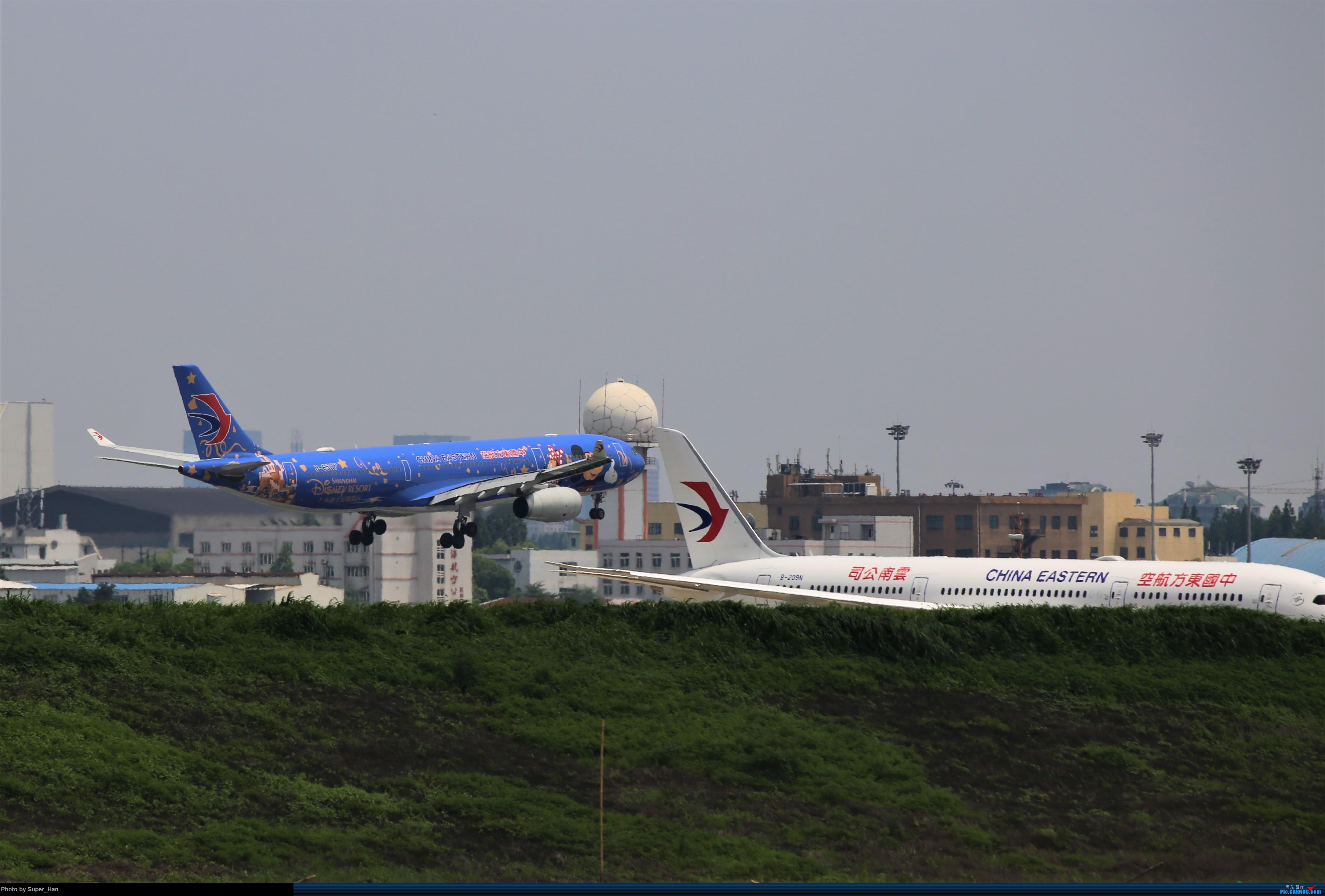 Re:[原创]0715去虹桥说走就走【最多的330篇】 AIRBUS A330-300 B-6507 中国上海虹桥国际机场