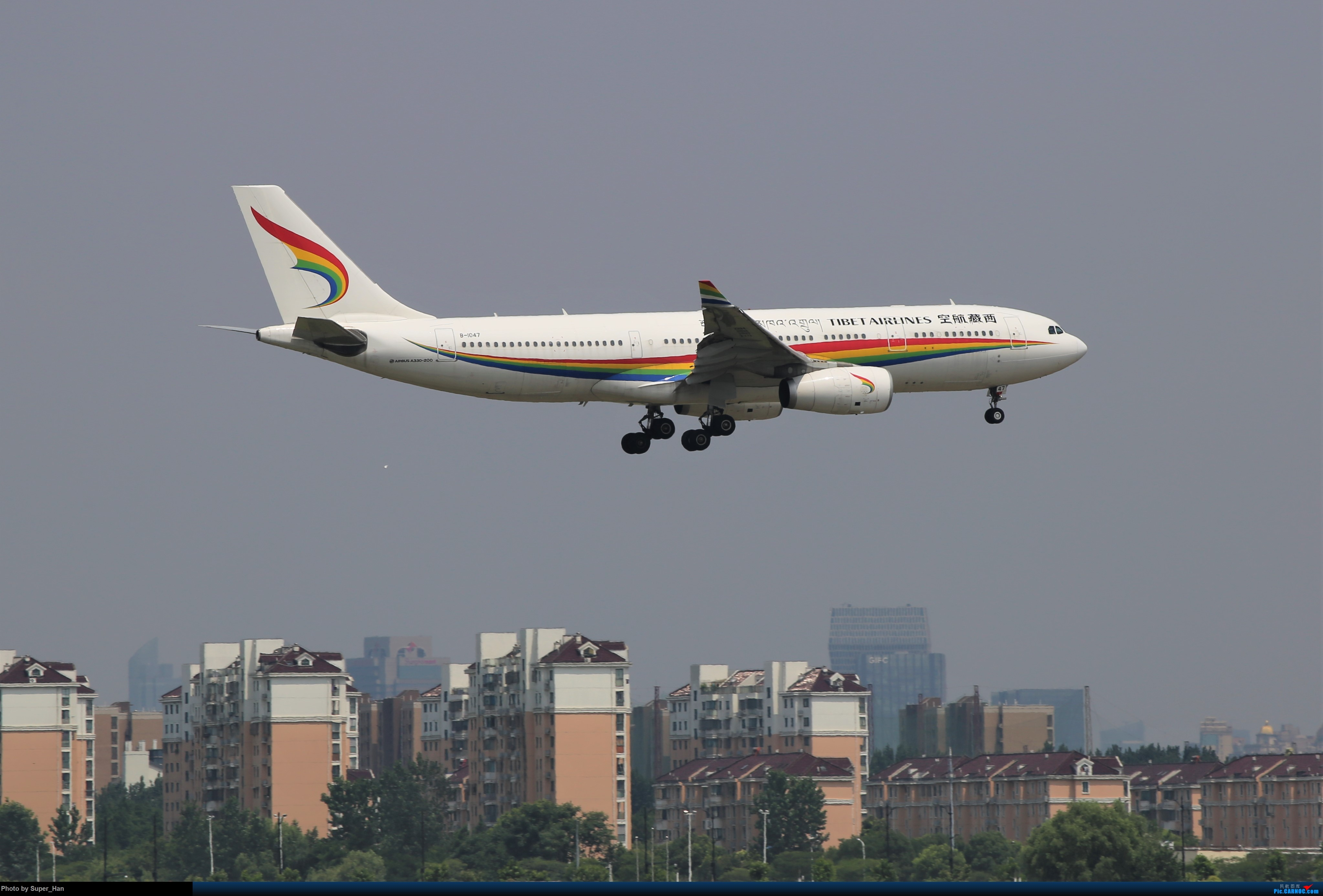 Re:[原创]0715去虹桥说走就走【最多的330篇】 AIRBUS A330-200 B-1047 中国上海虹桥国际机场