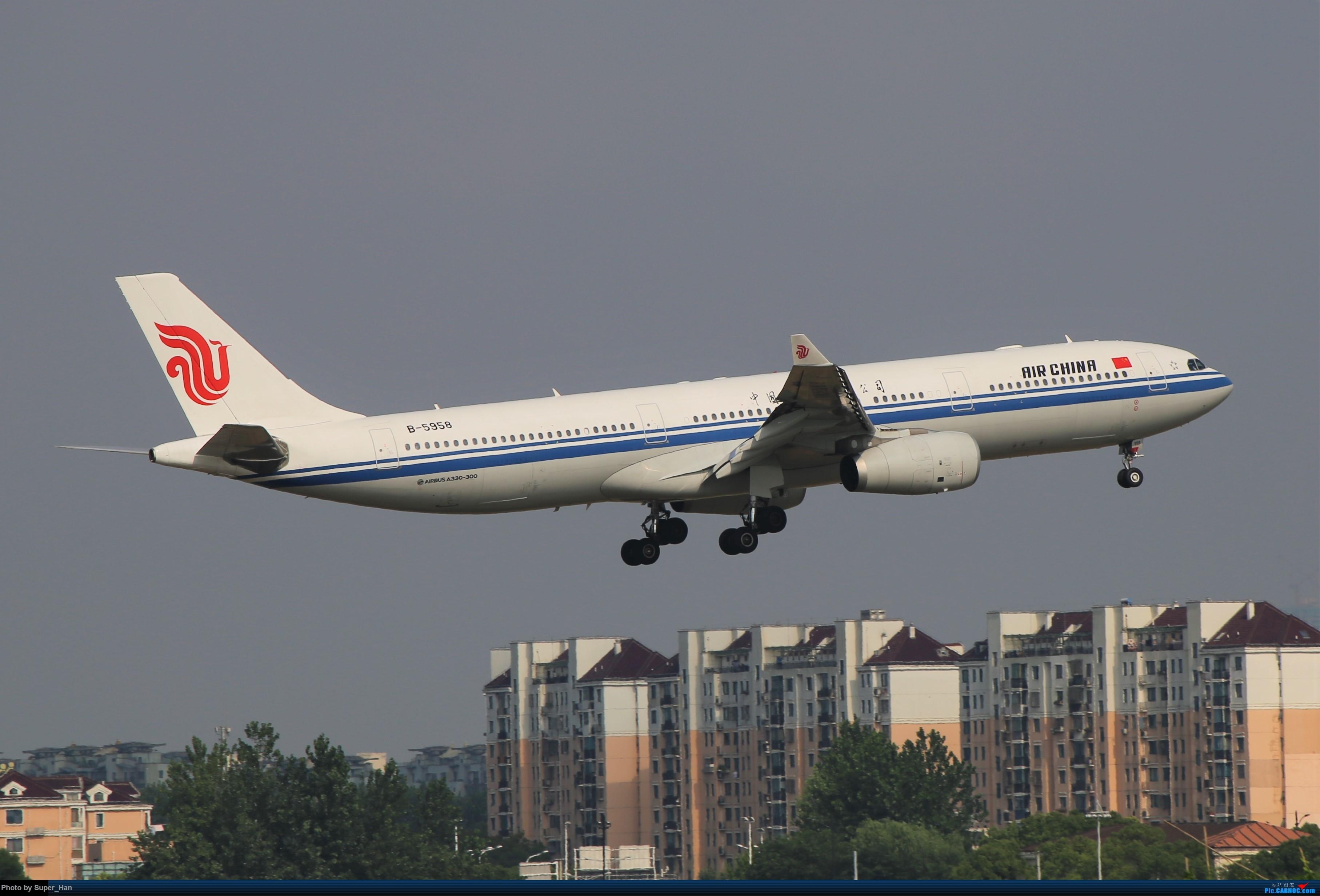 Re:[原创]0715去虹桥说走就走【最多的330篇】 AIRBUS A330-300 B-5958 中国上海虹桥国际机场
