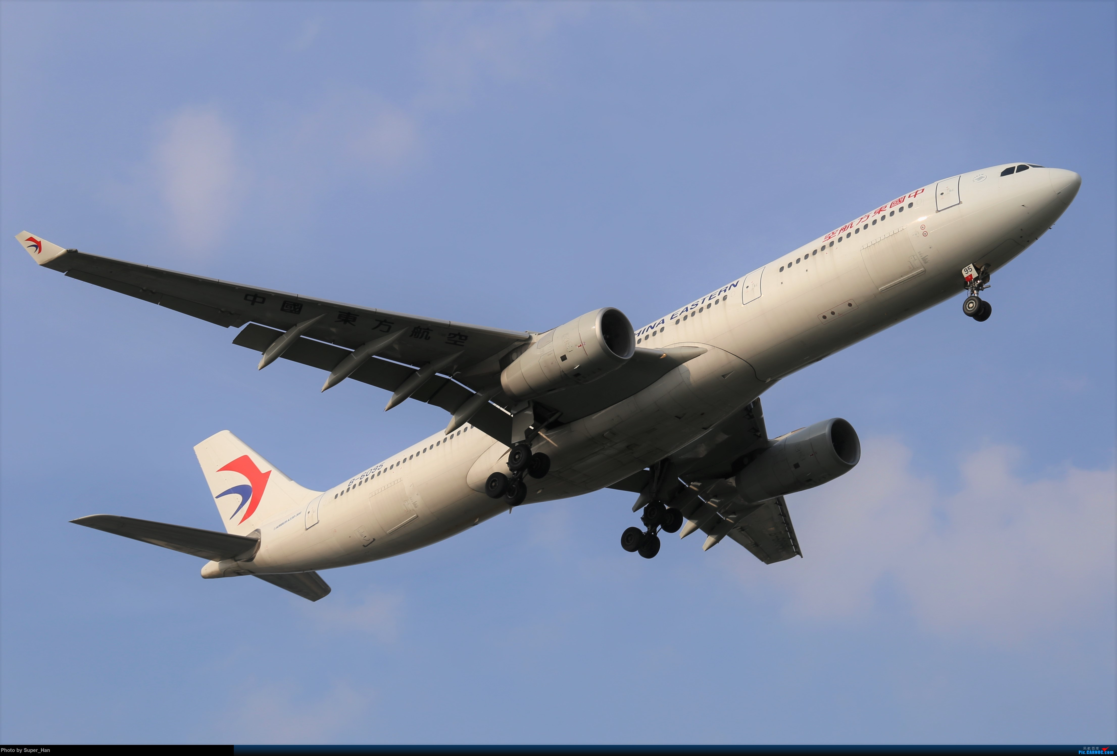 Re:[原创]0715去虹桥说走就走【最多的330篇】 AIRBUS A330-300 B-6095 中国上海虹桥国际机场