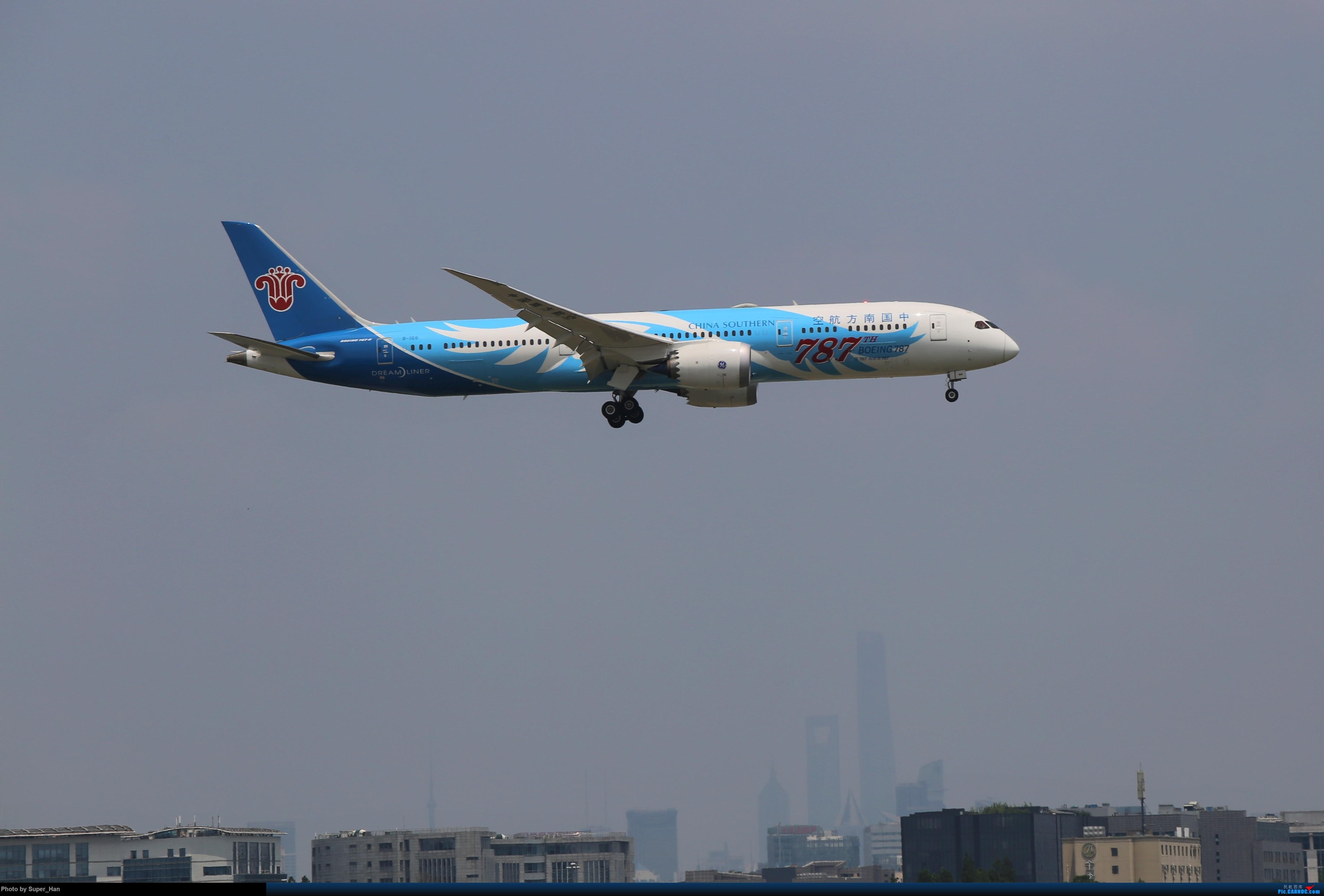 Re:[原创]【杭州飞友会】浦东之上 BOEING 787-9 B-1168 中国上海虹桥国际机场