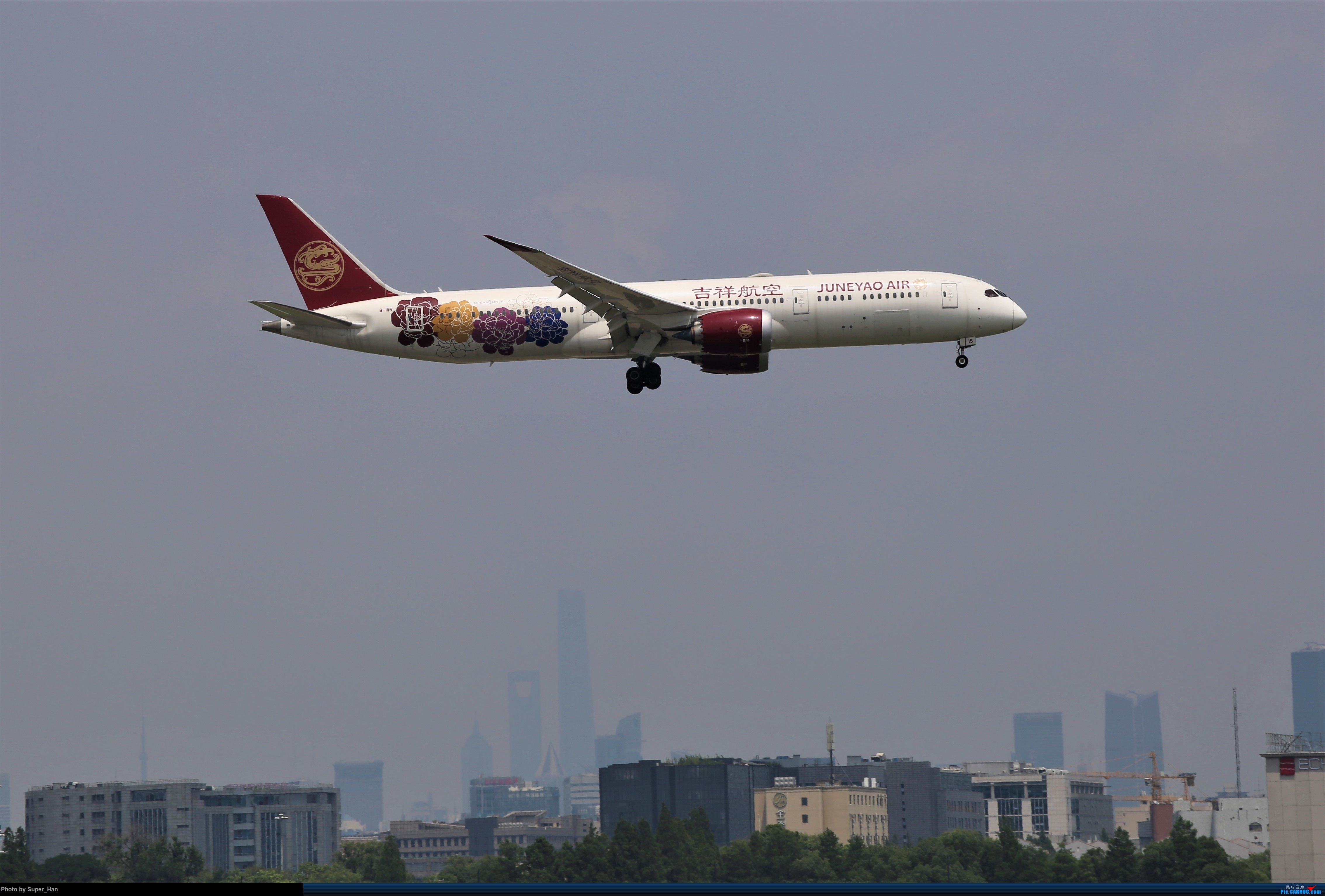 Re:[原创]【杭州飞友会】浦东之上 BOEING 787-9 B-1115 中国上海虹桥国际机场