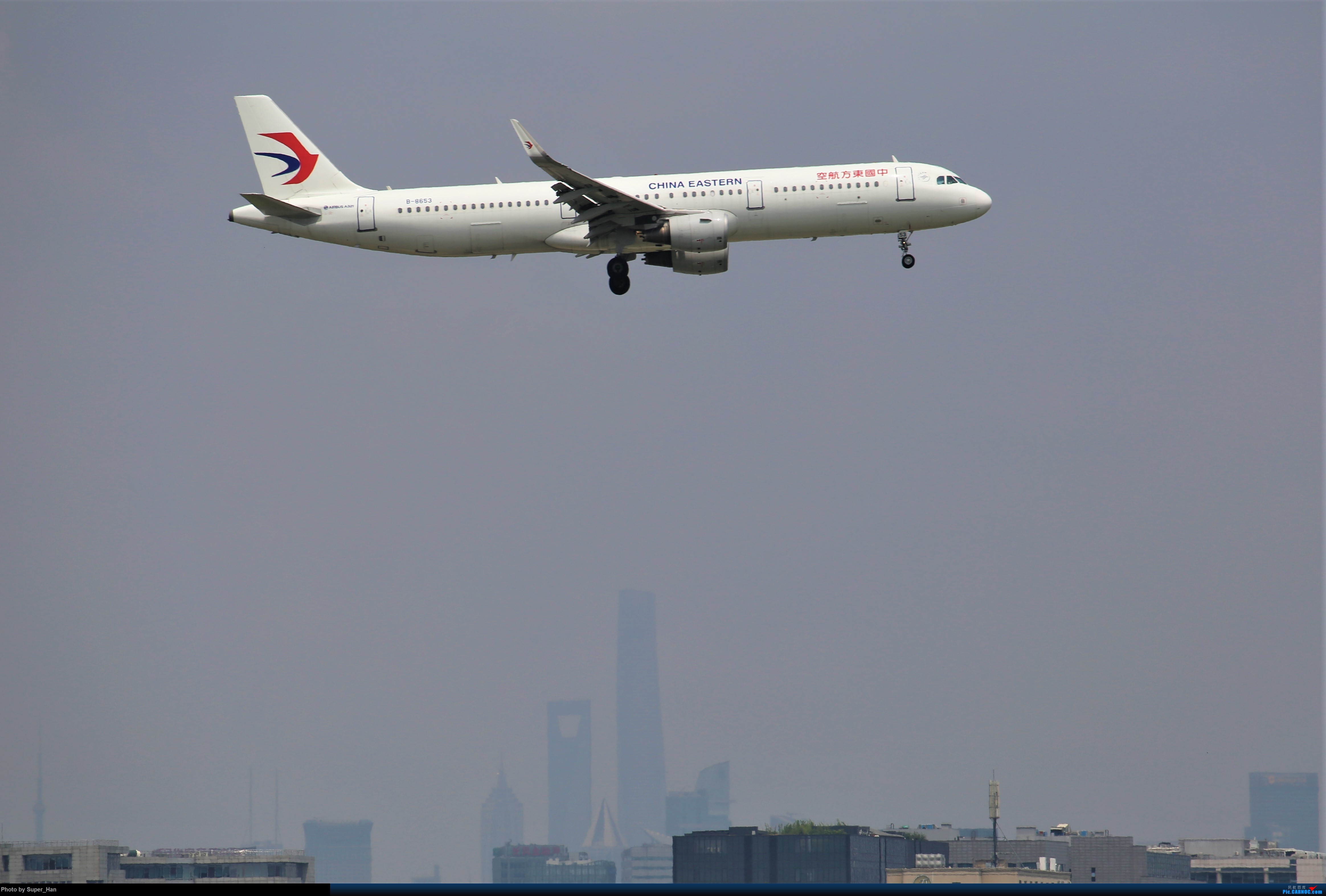 Re:[原创]【杭州飞友会】浦东之上 AIRBUS A321-200 B-8653 中国上海虹桥国际机场