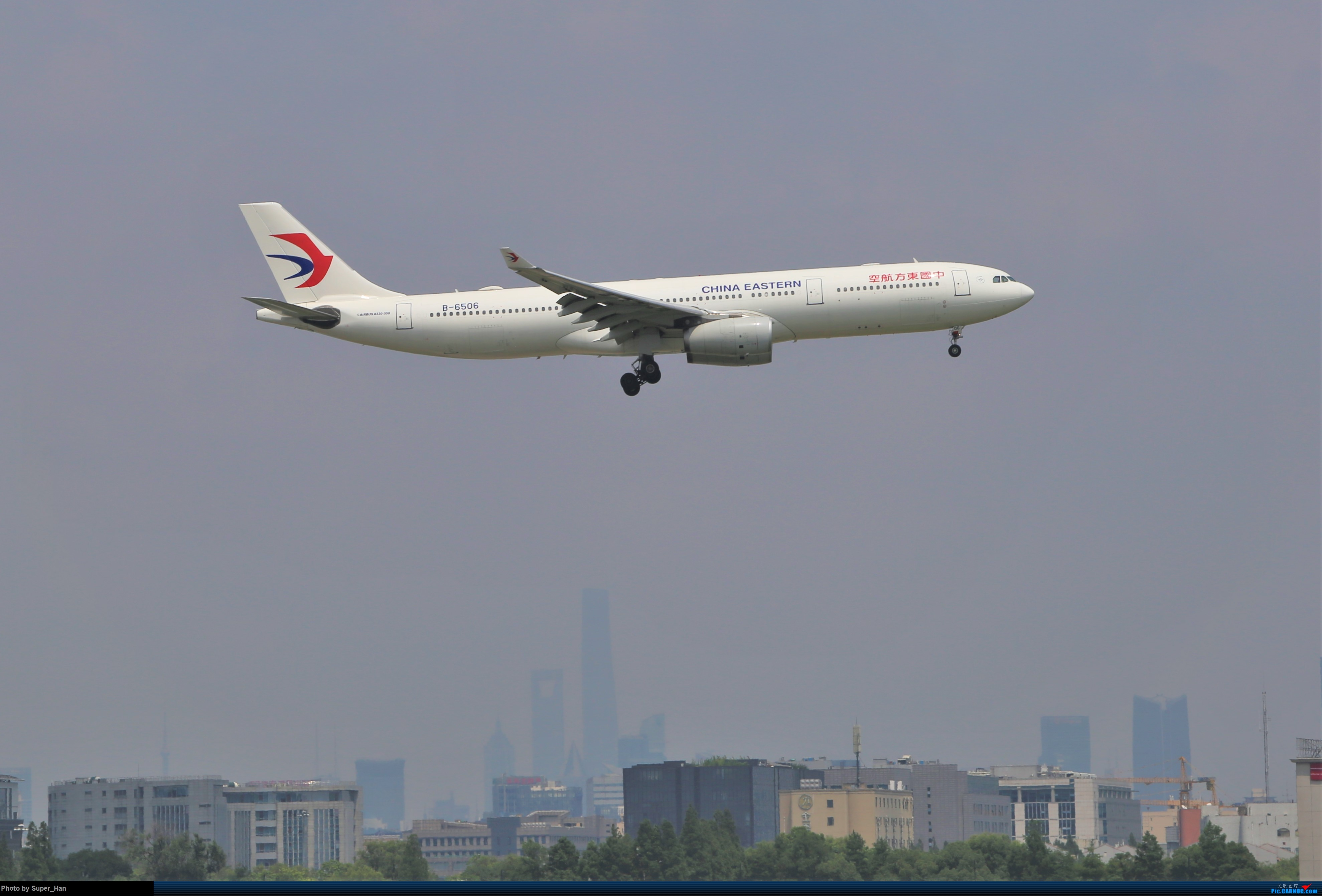 Re:[原创]【杭州飞友会】浦东之上 AIRBUS A330-300 B-6506 中国上海虹桥国际机场