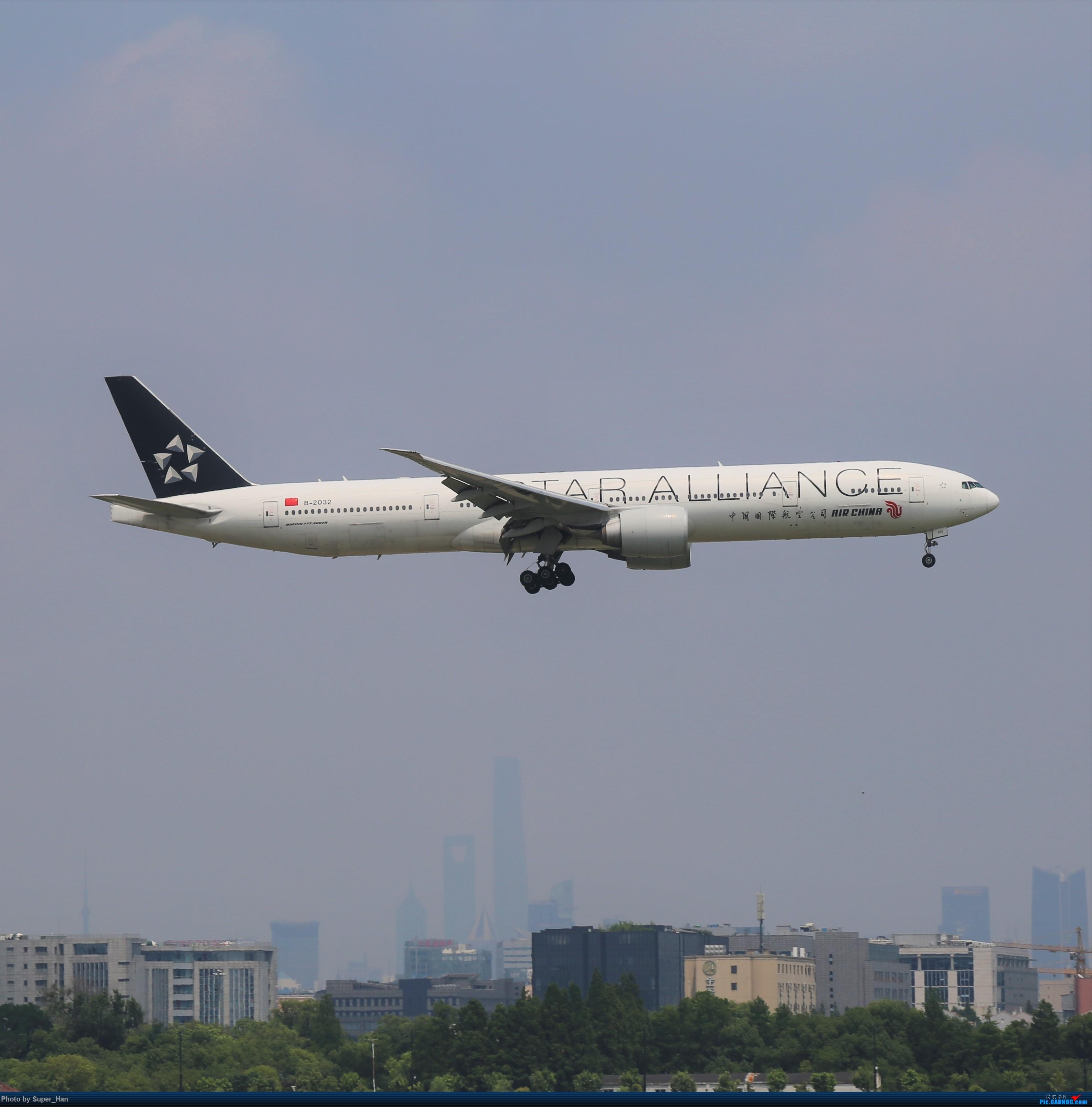 Re:[原创]【杭州飞友会】浦东之上 BOEING 777-300ER B-2032 中国上海虹桥国际机场