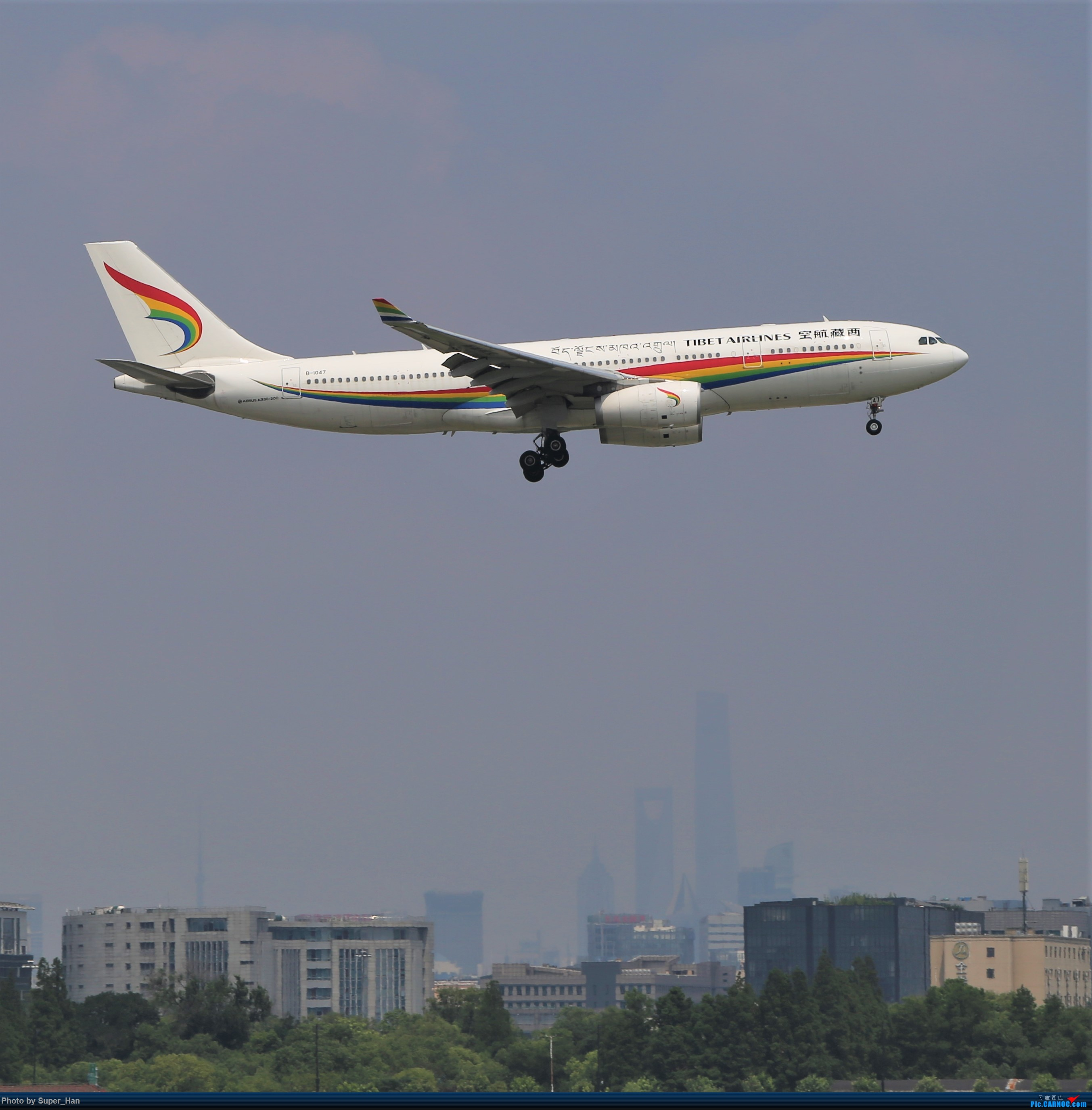 Re:[原创]【杭州飞友会】浦东之上 AIRBUS A330-200 B-1047 中国上海虹桥国际机场