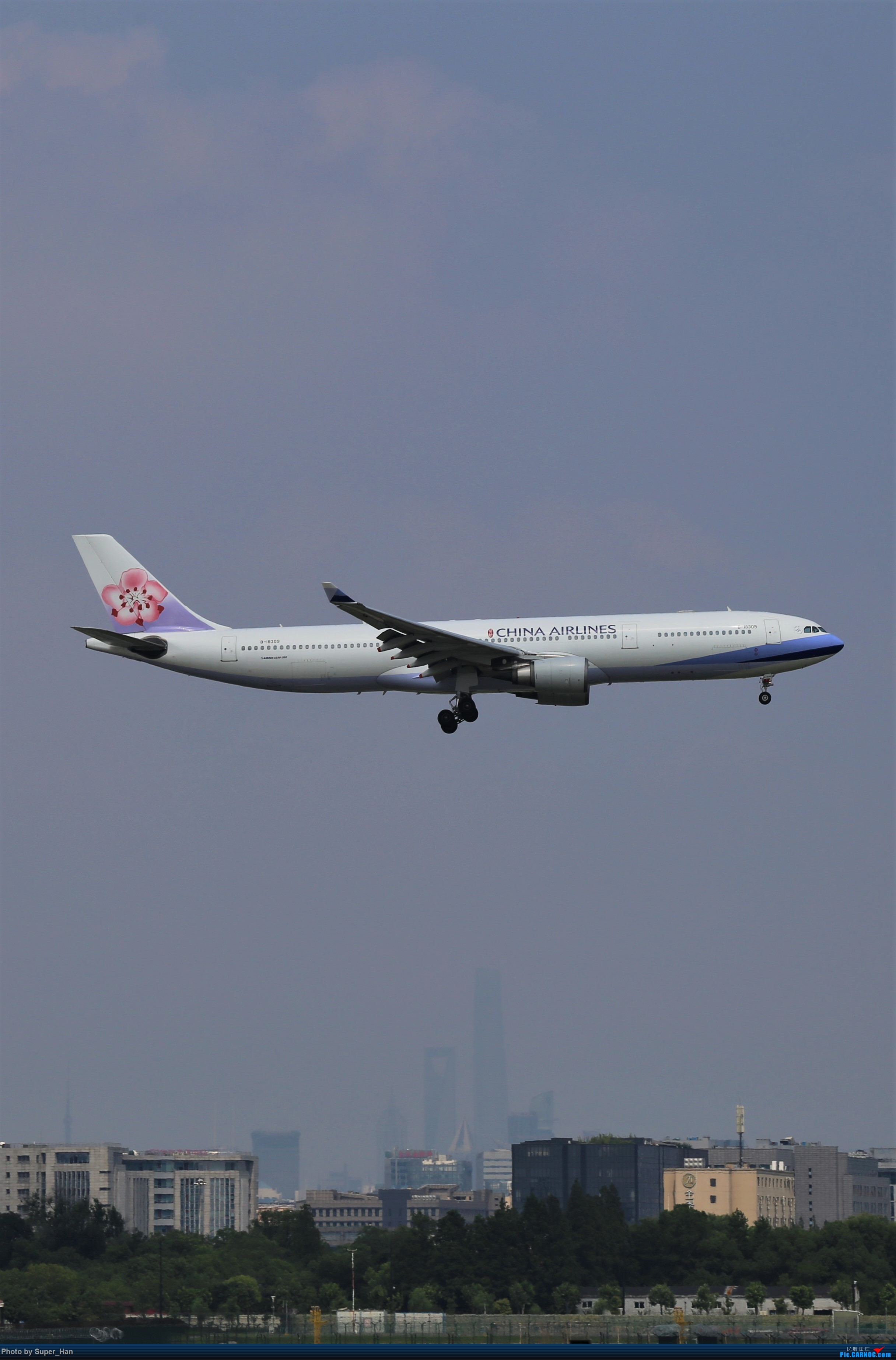 Re:【杭州飞友会】浦东之上 AIRBUS A330-300 B-18309 中国上海虹桥国际机场