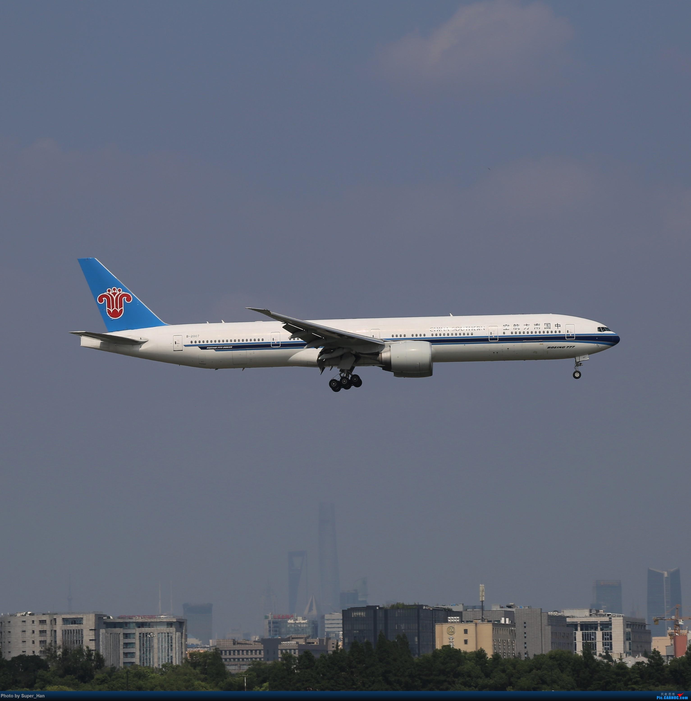 Re:[原创]【杭州飞友会】浦东之上 BOEING 777-300ER B-2007 中国上海虹桥国际机场