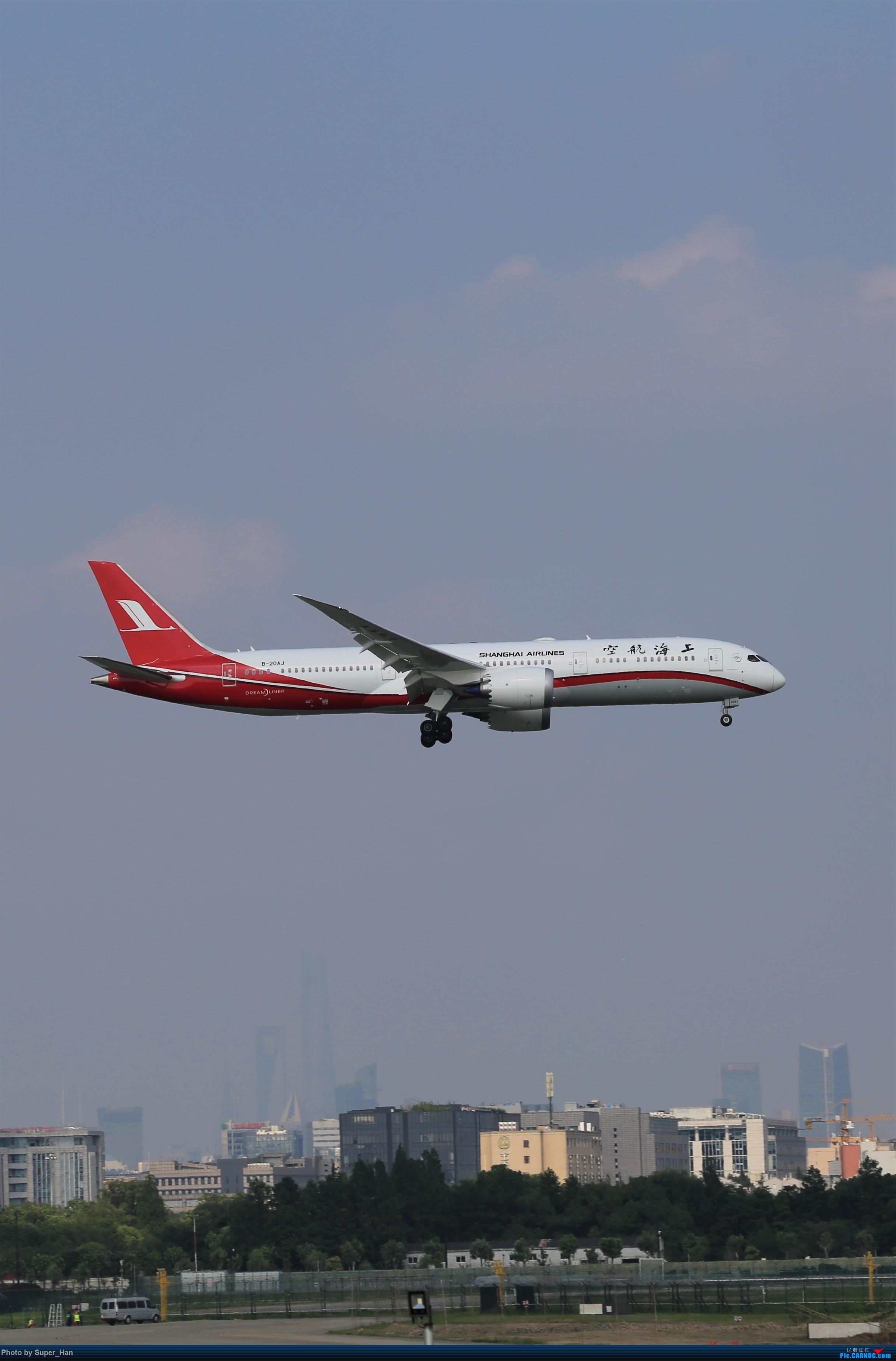 Re:[原创]【杭州飞友会】浦东之上 BOEING 787-9 B-20AJ 中国上海虹桥国际机场