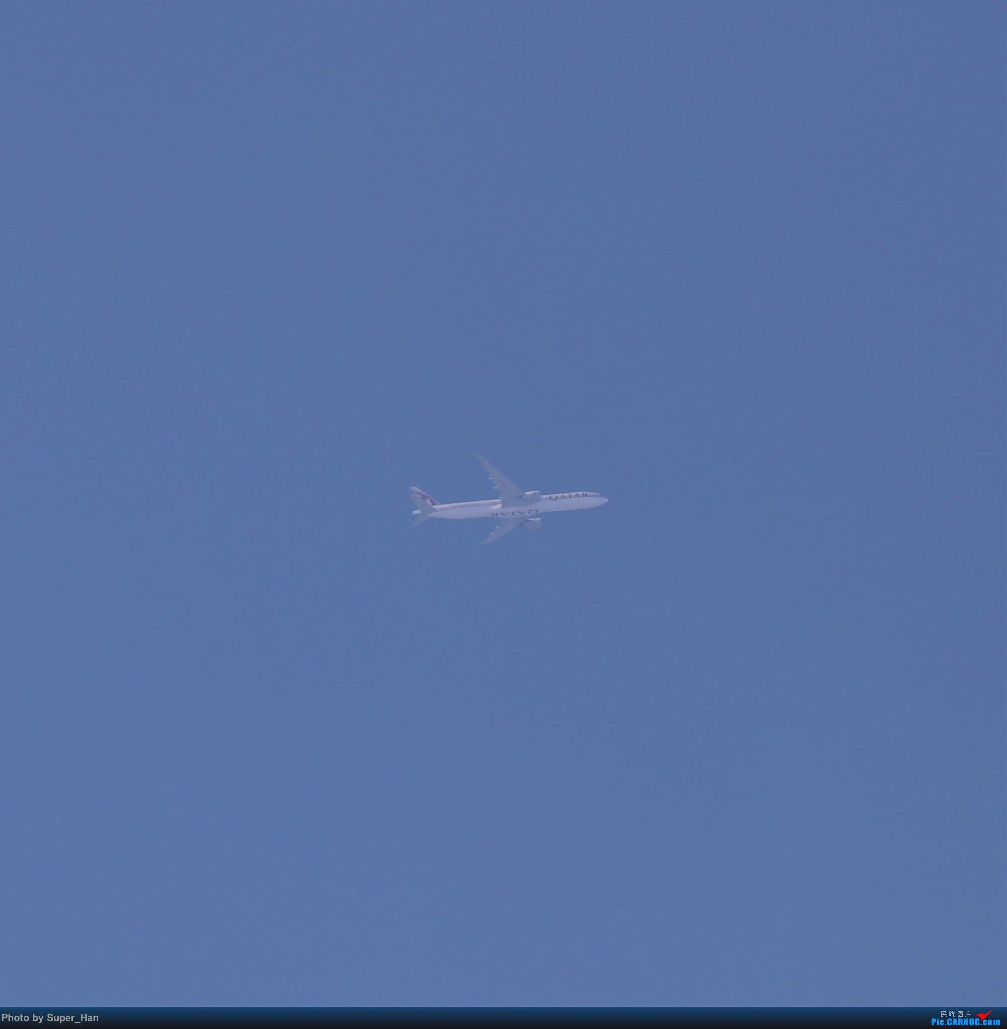 Re:[原创]【杭州飞友会】0715虹桥头顶降PVG的重型机 BOEING 777-300ER A7-BEJ 中国上海虹桥国际机场