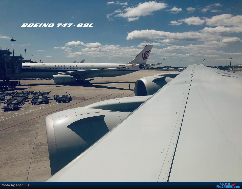 [原创]【京沪快线四发之旅】国航B747-8I 超经+上层公务往返之旅 BOEING 747-8I B-2487 中国北京首都国际机场