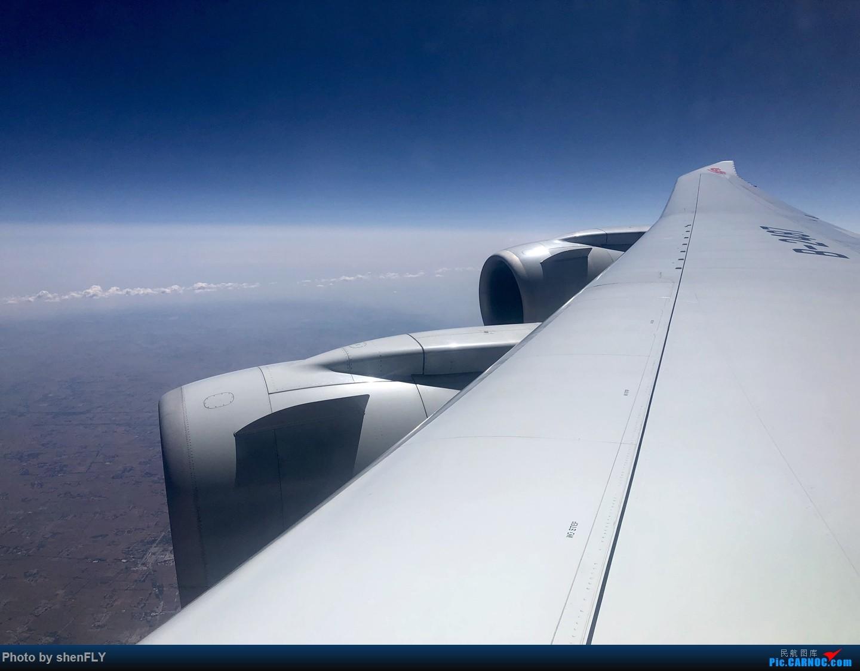 Re:[原创]【京沪快线四发之旅】国航B747-8I 超经+上层公务往返之旅 BOEING 747-8I B-2487 空中