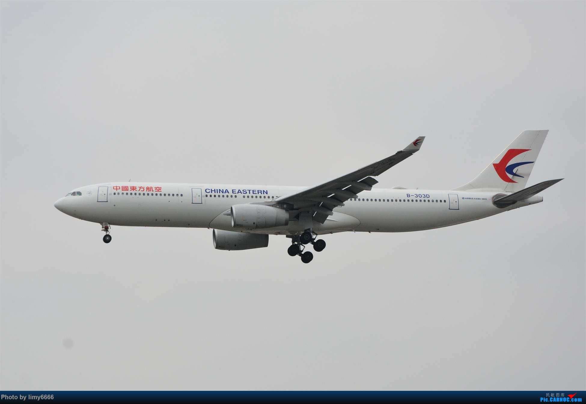 Re:[原创]上海虹桥机场拍机(在贵阳很少见或看不见的) AIRBUS A330-300 B-303D 中国上海虹桥国际机场