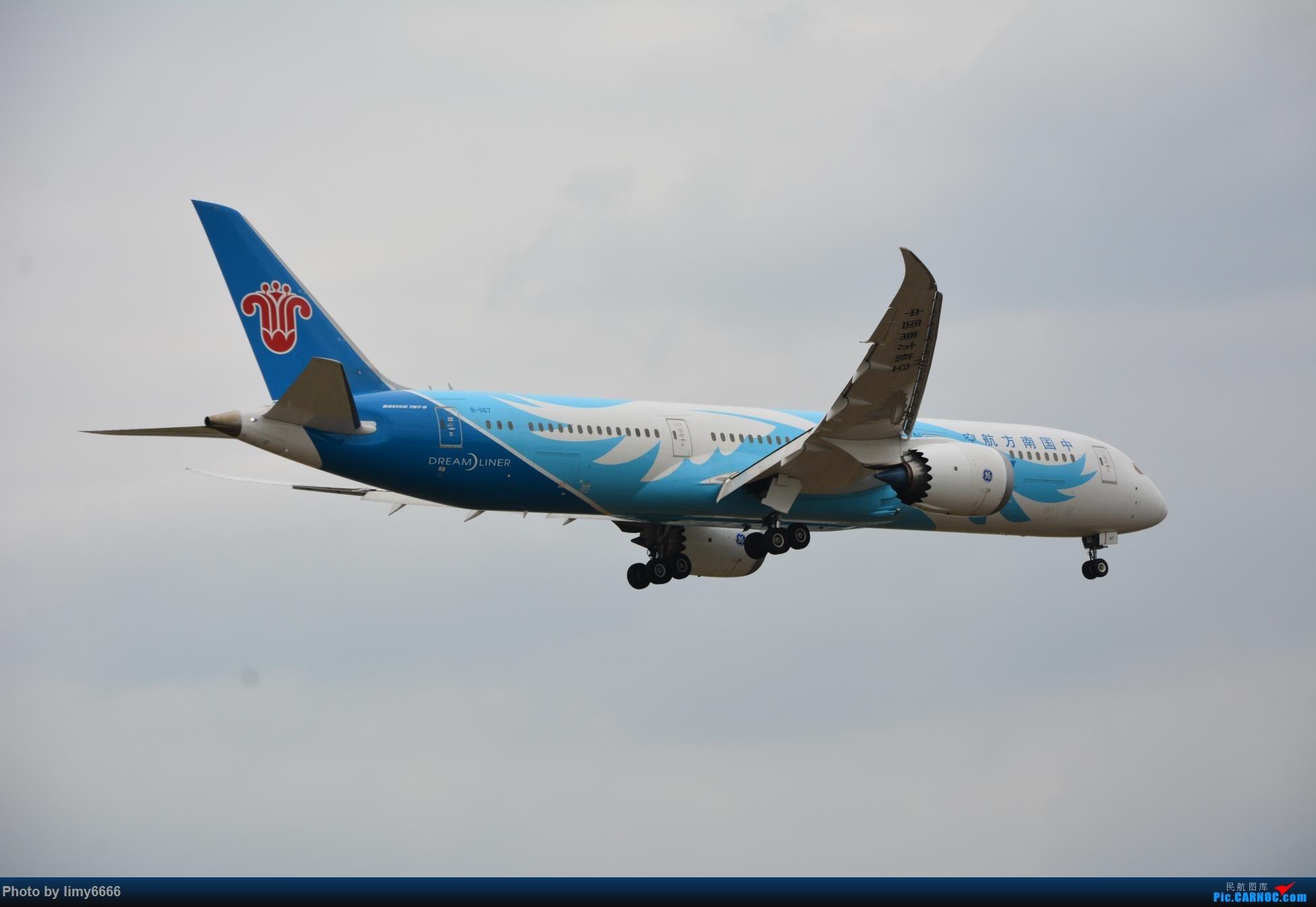 Re:[原创]上海虹桥机场拍机(在贵阳很少见或看不见的) BOEING 787-9 B-1167 中国上海虹桥国际机场