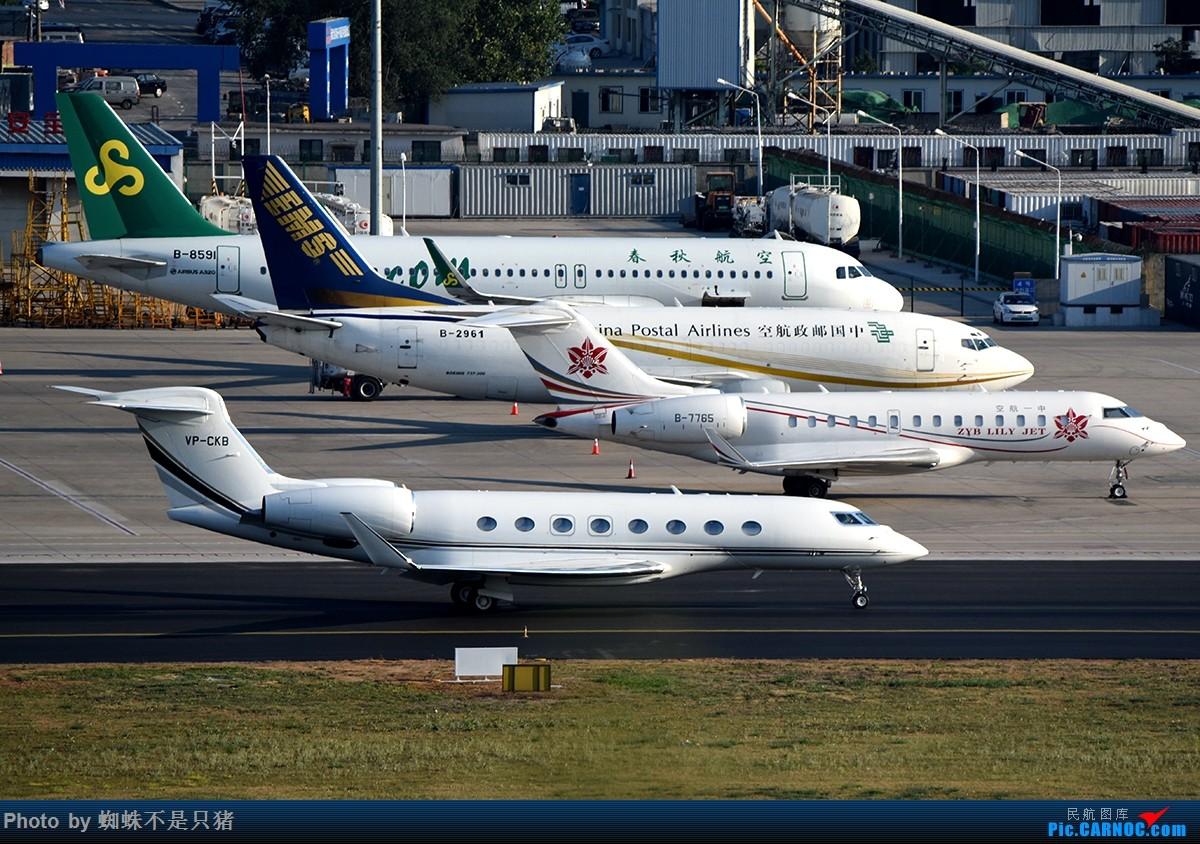 Re:[原创]夏日DLC BOMBARDIER GLOBAL EXPRESS B-7765 中国大连国际机场
