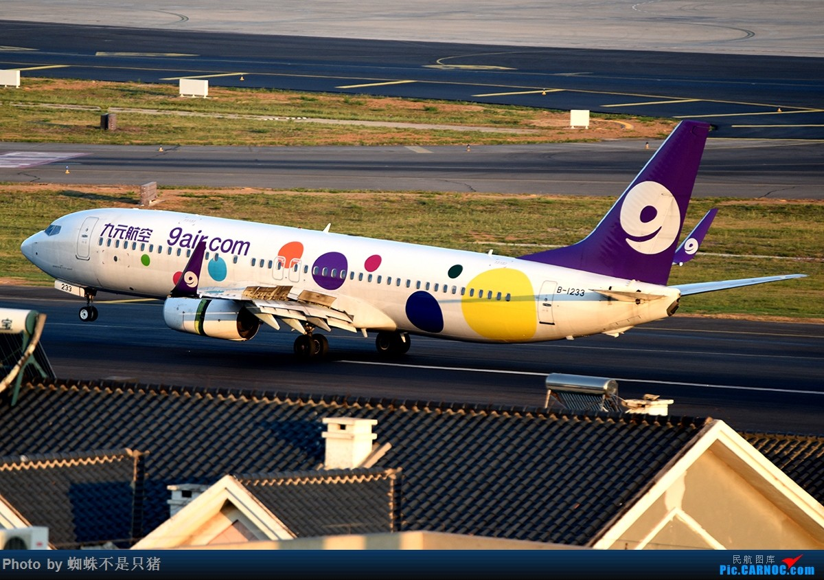 Re:[原创]夏日DLC BOEING 737-800 B-1233 中国大连国际机场
