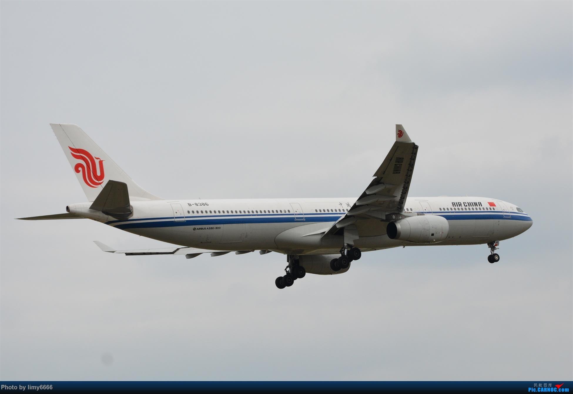 Re:[原创]上海虹桥机场拍机(在贵阳很少见或看不见的) AIRBUS A330-300 B-8386 中国上海虹桥国际机场
