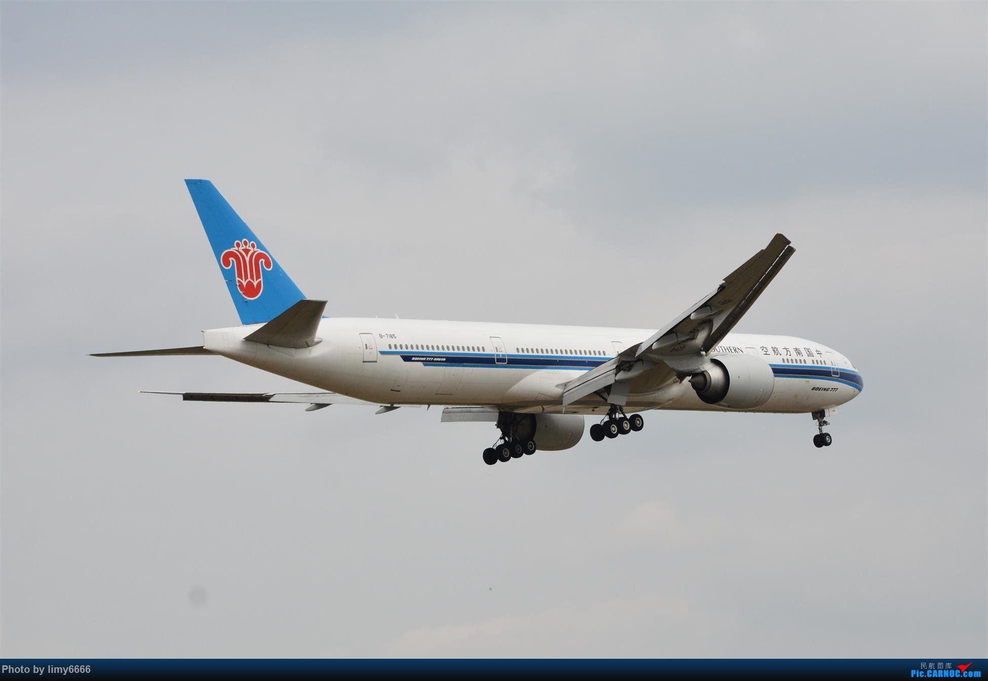 Re:[原创]上海虹桥机场拍机(在贵阳很少见或看不见的) BOEING 777-300ER B-7185 中国上海虹桥国际机场