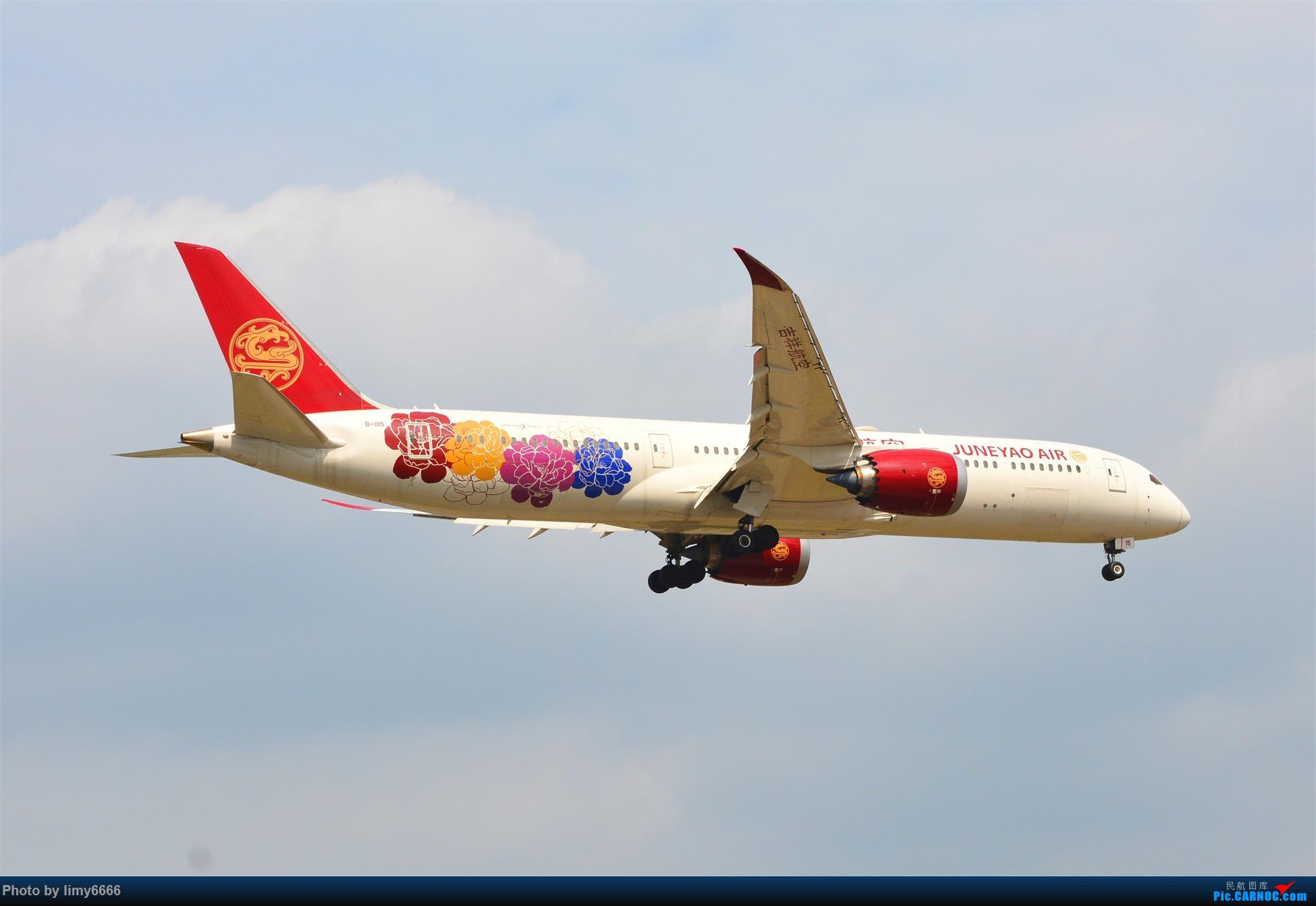 Re:[原创]上海虹桥机场拍机(在贵阳很少见或看不见的) BOEING 787-9 B-1115 中国上海虹桥国际机场