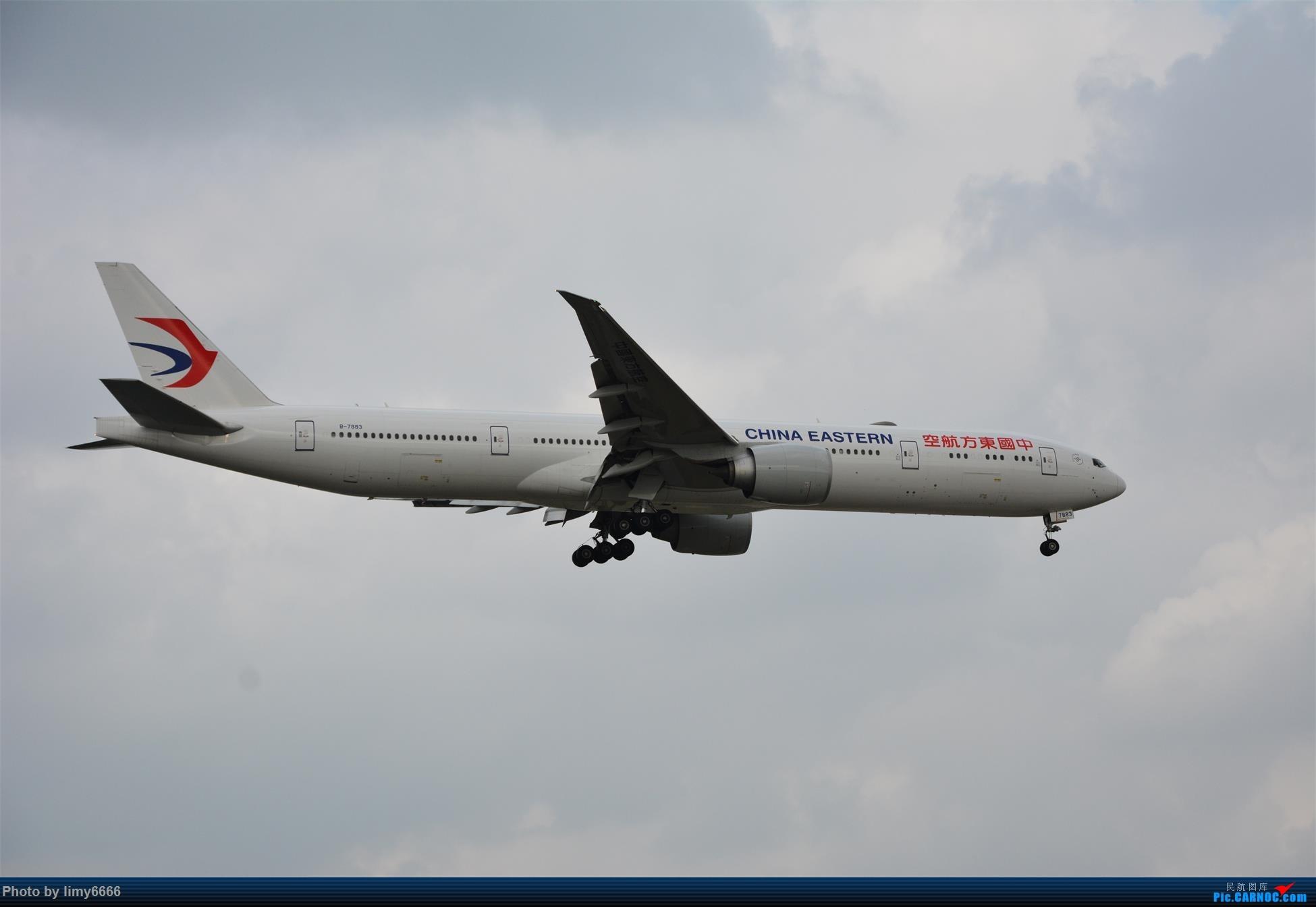Re:[原创]上海虹桥机场拍机(在贵阳很少见或看不见的) BOEING 777-300ER B-7883 中国上海虹桥国际机场