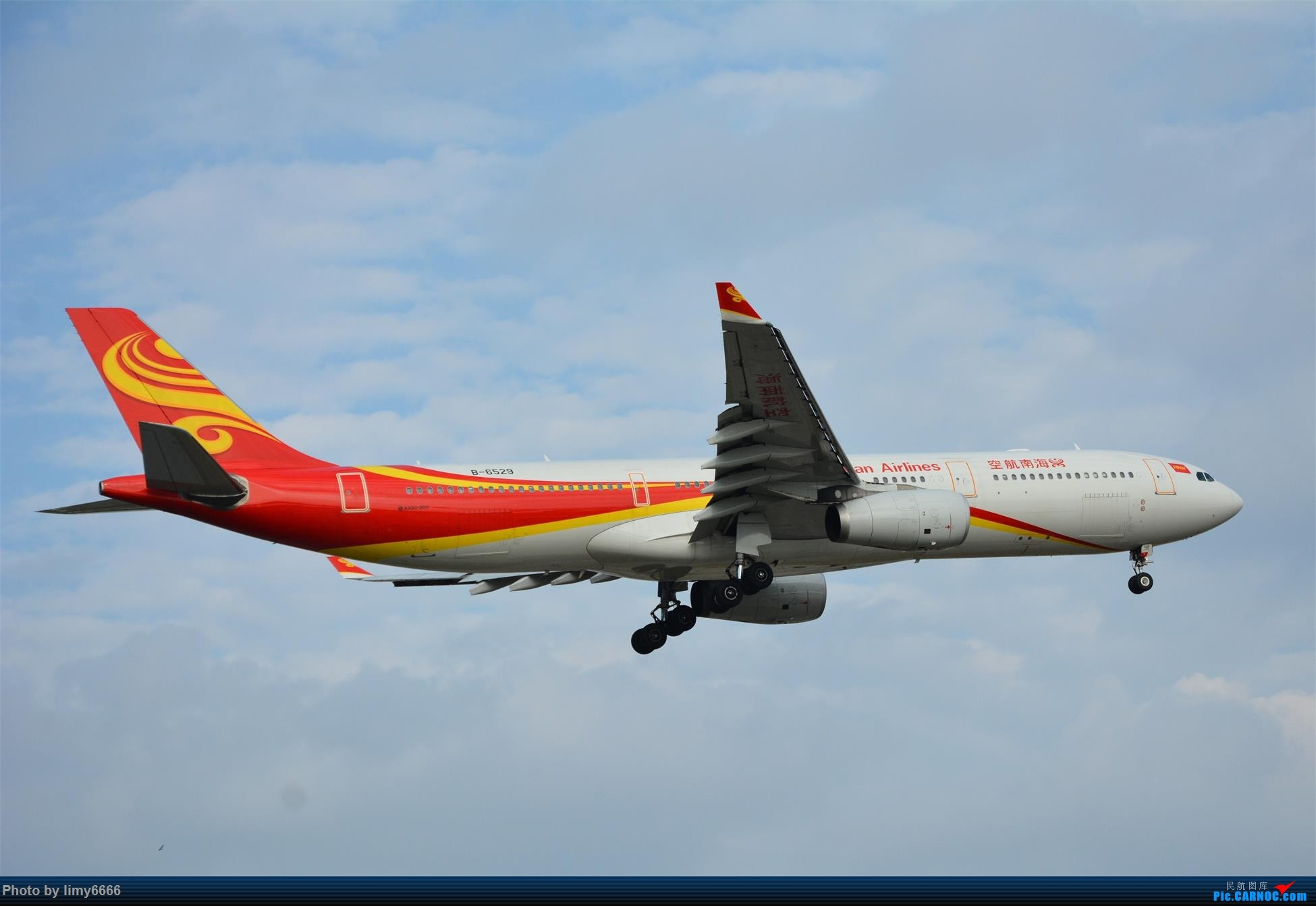 Re:[原创]上海虹桥机场拍机(在贵阳很少见或看不见的) AIRBUS A330-300 B-6529 中国上海虹桥国际机场