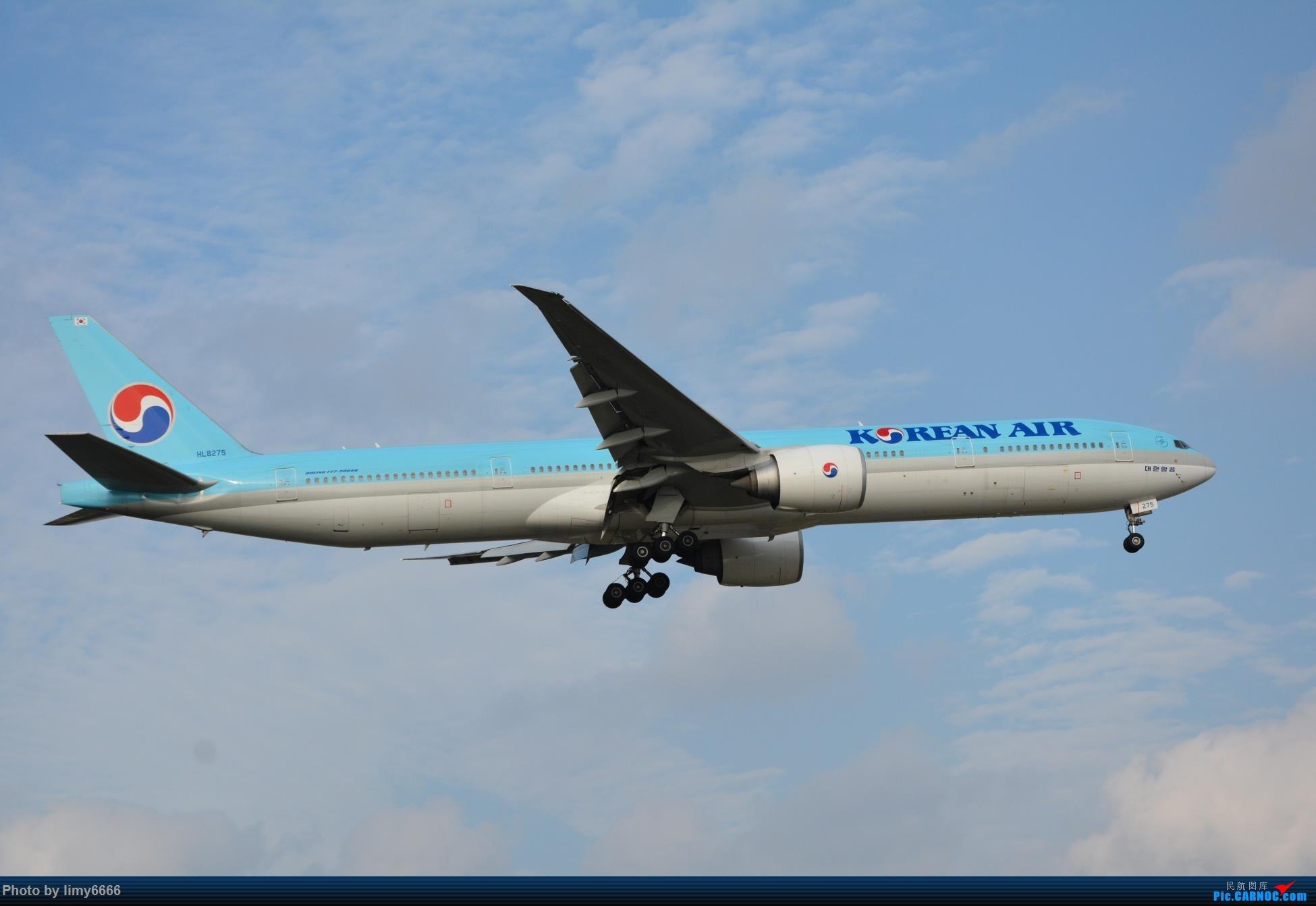 Re:[原创]上海虹桥机场拍机(在贵阳很少见或看不见的) BOEING 777-300ER HL8275 中国上海虹桥国际机场
