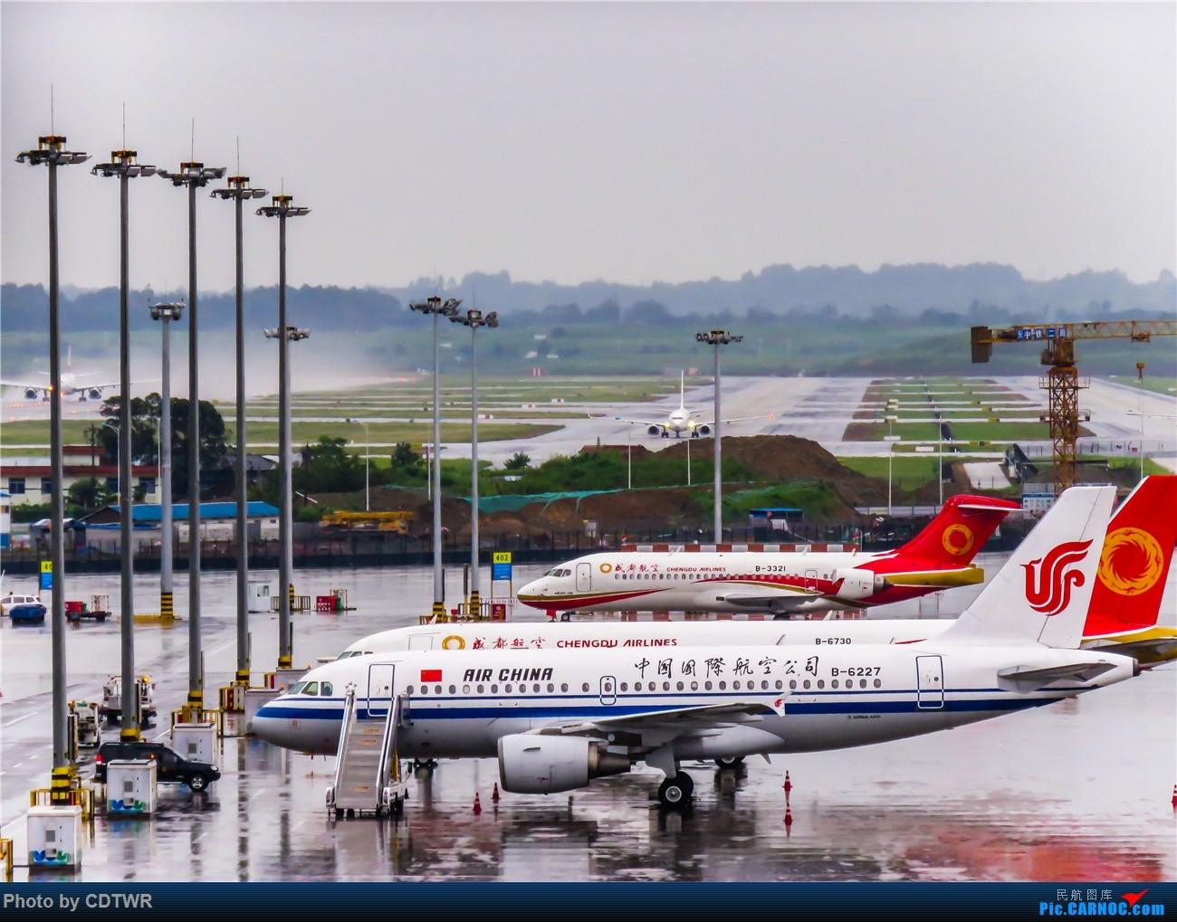 Re:[原创]换个角度拍机 成都塔台解锁 AIRBUS A319-100 B-6227 中国成都双流国际机场