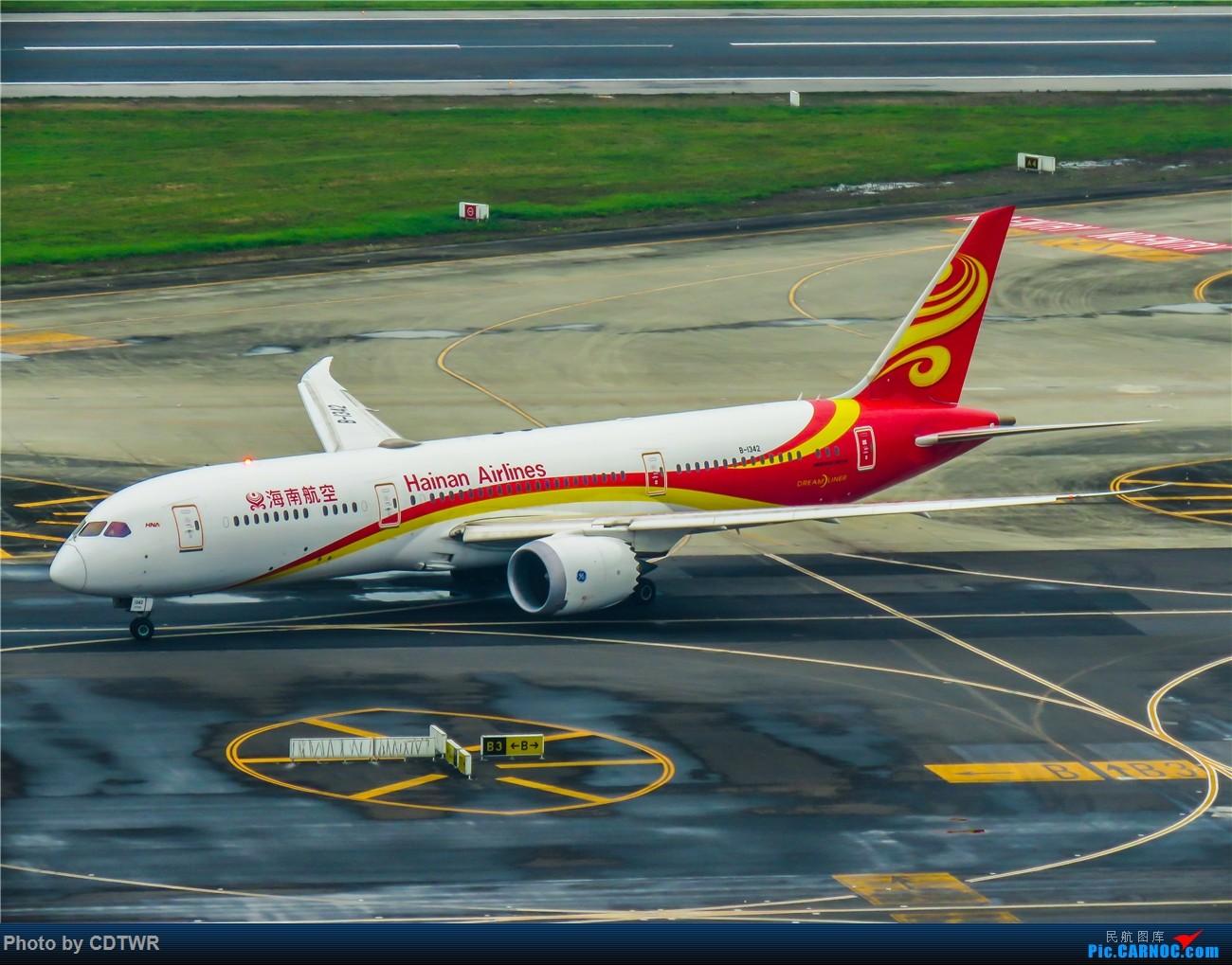 Re:[原创]换个角度拍机 成都塔台解锁 BOEING 787-9 B-1342 中国成都双流国际机场
