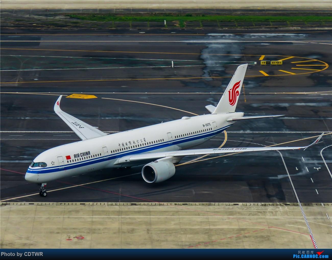 Re:[原创]换个角度拍机 成都塔台解锁 AIRBUS A350-900 B-307C 中国成都双流国际机场