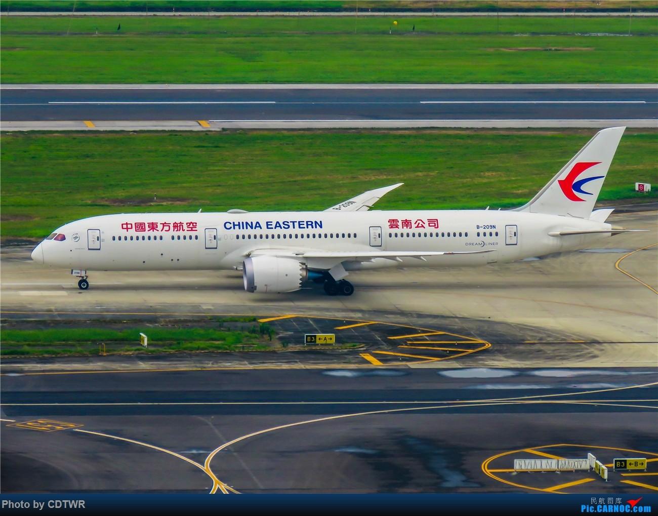 Re:[原创]换个角度拍机 成都塔台解锁 BOEING 787-9 B-209N 中国成都双流国际机场