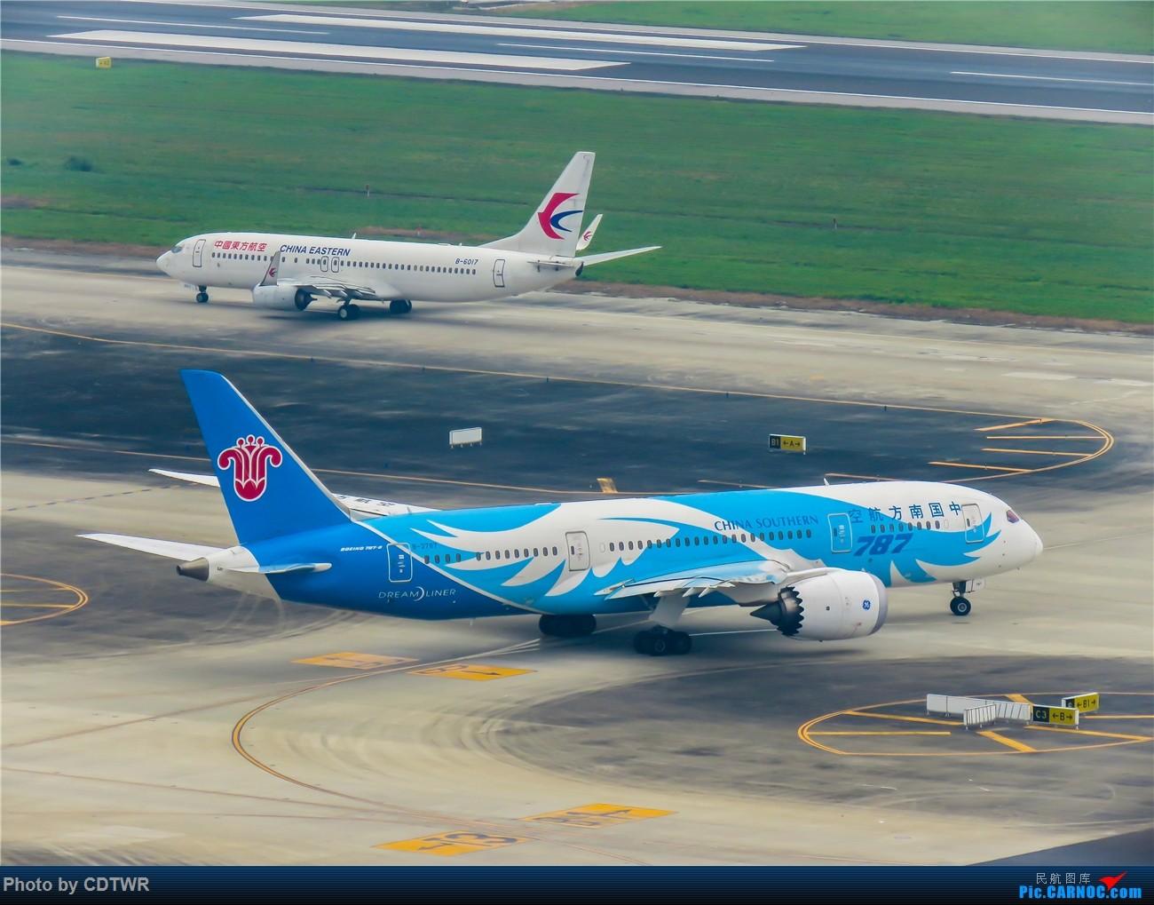Re:[原创]换个角度拍机 成都塔台解锁 BOEING 787-8 B-2787 中国成都双流国际机场
